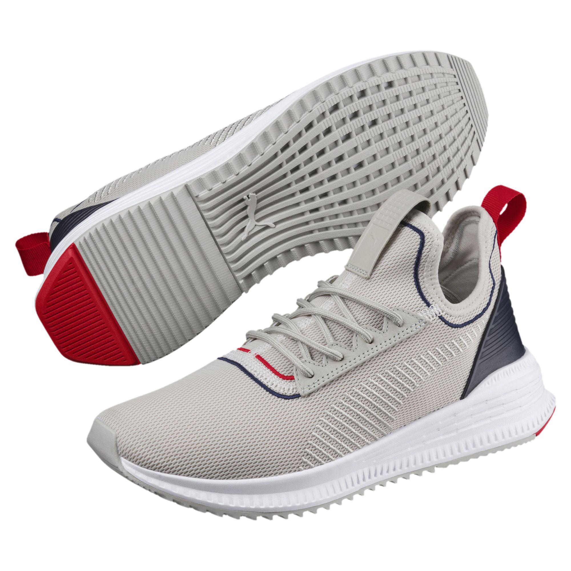 bd7295dd4574a6 Lyst - PUMA Avid Evoknit Sports Stripes Running Shoes for Men