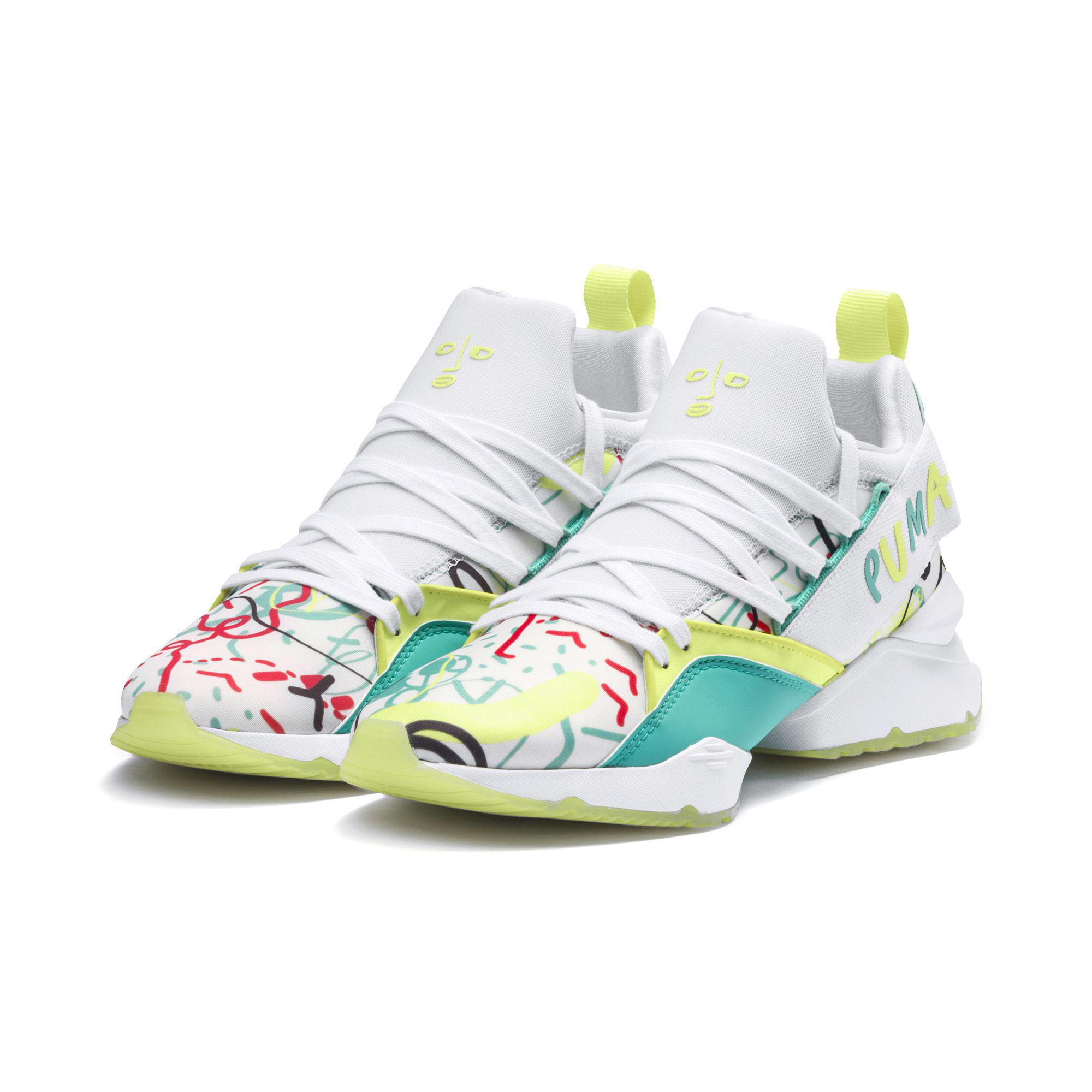6eafb756f92 Lyst - PUMA X Shantell Martin Muse Maia Women s Sneakers in White