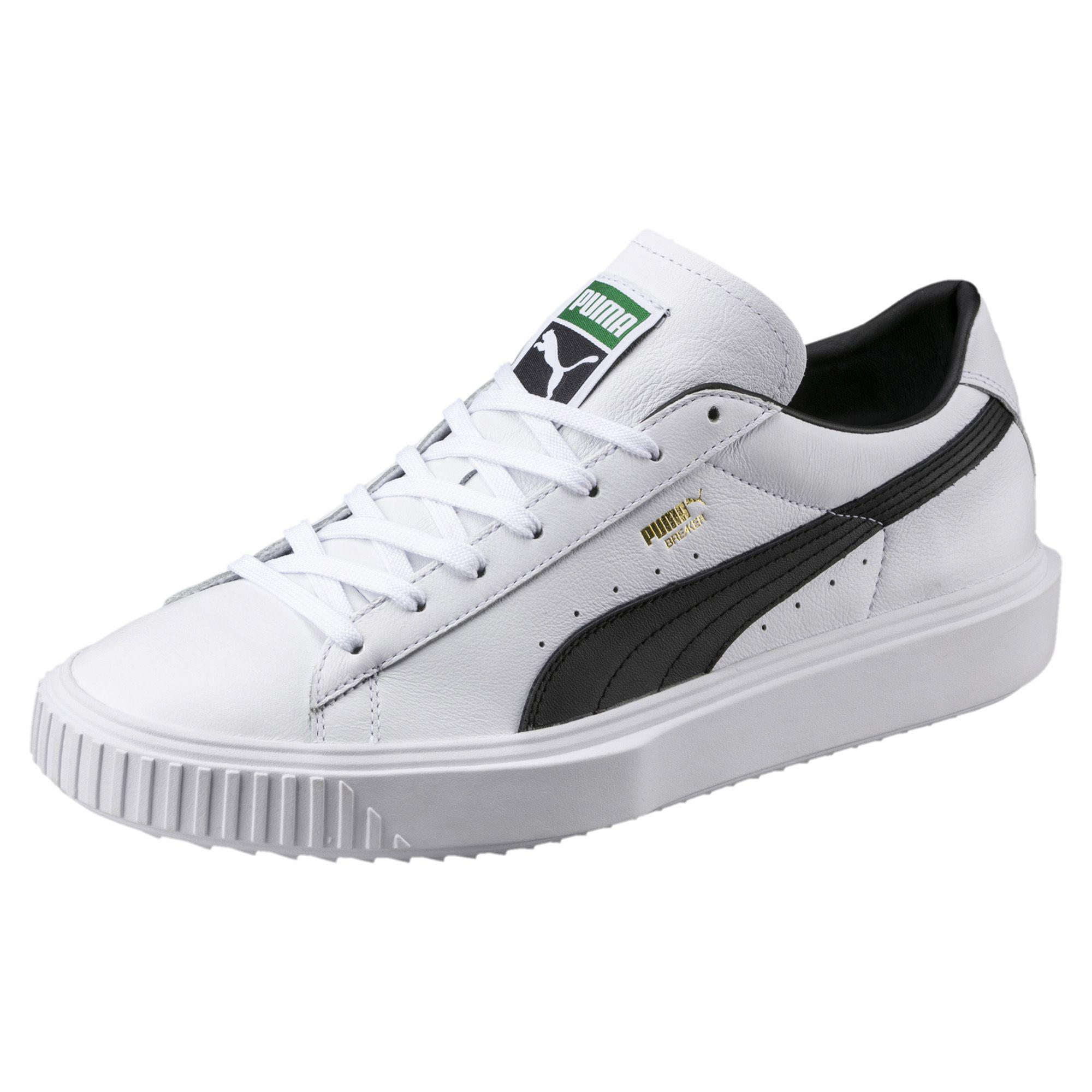6680430247f79c Lyst - PUMA Breaker Leather Sneakers in White for Men