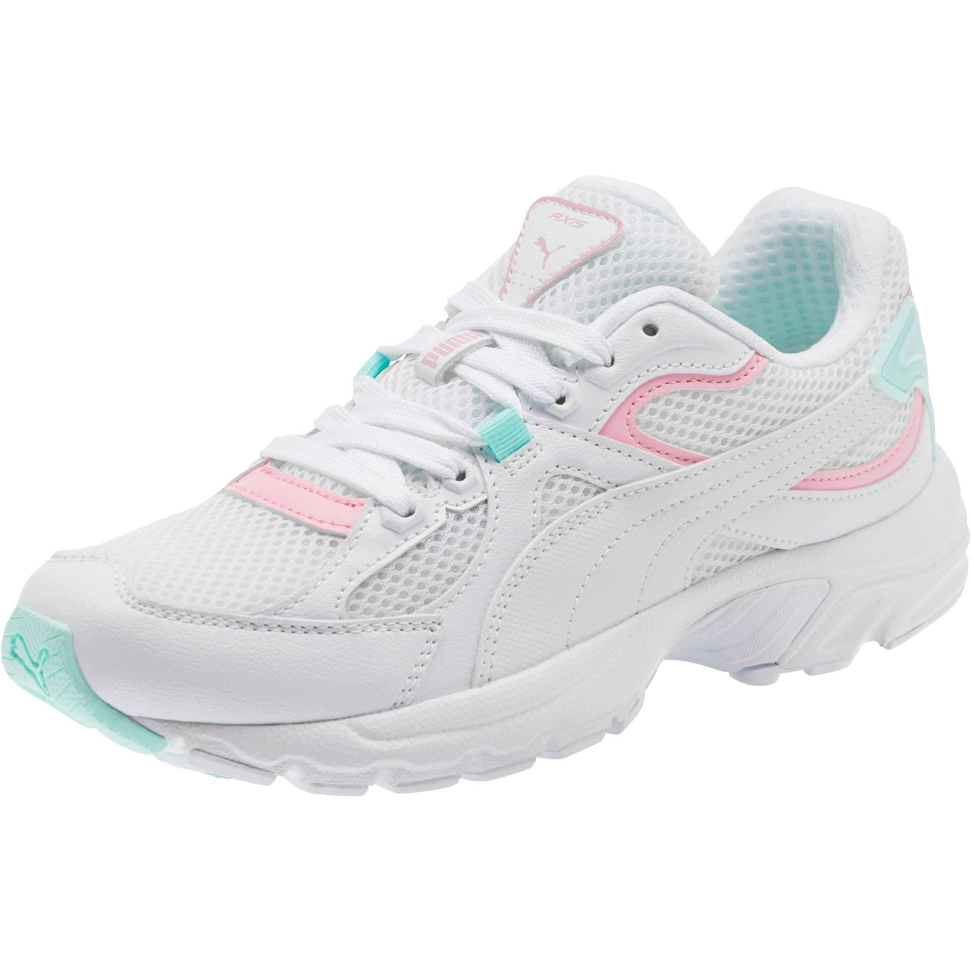 Puma Damen Chunky Sneaker Axis Plus 90s weiß Neu Kleidung