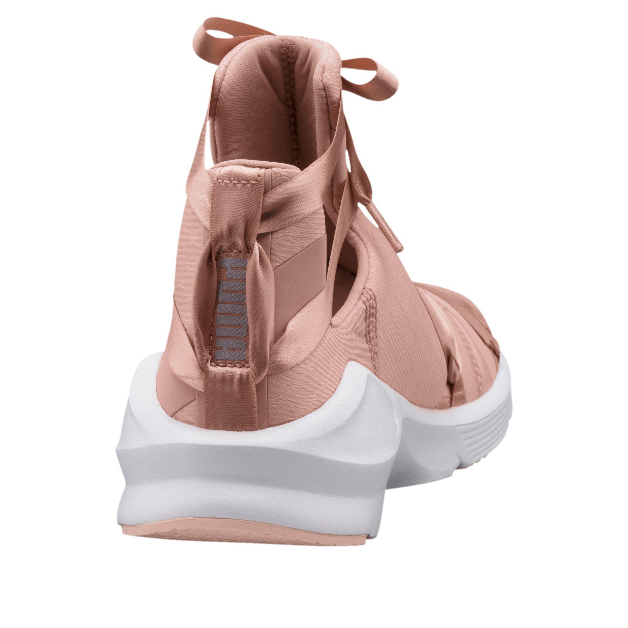 Puma Women's Fierce Rope Satin En Pointe High Top Sneaker