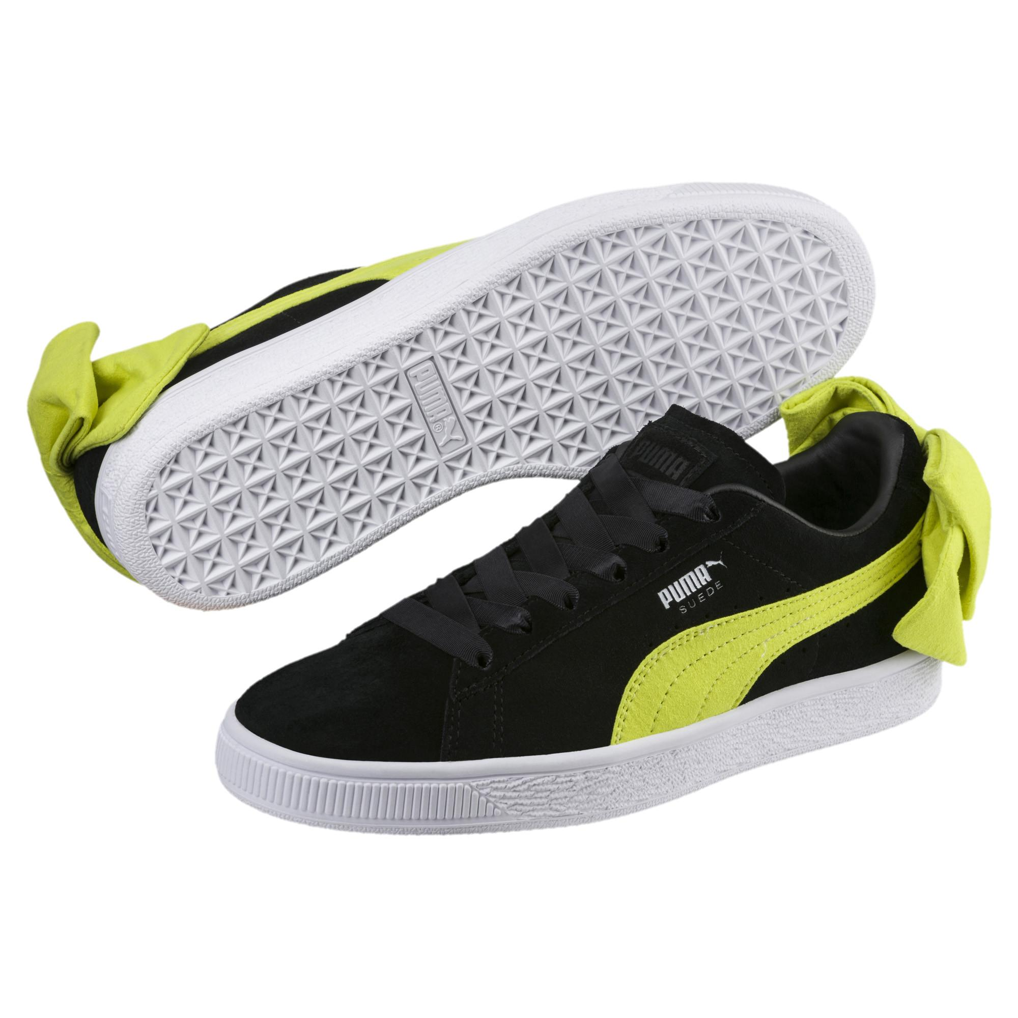 Suede Bow Wn's Sneaker
