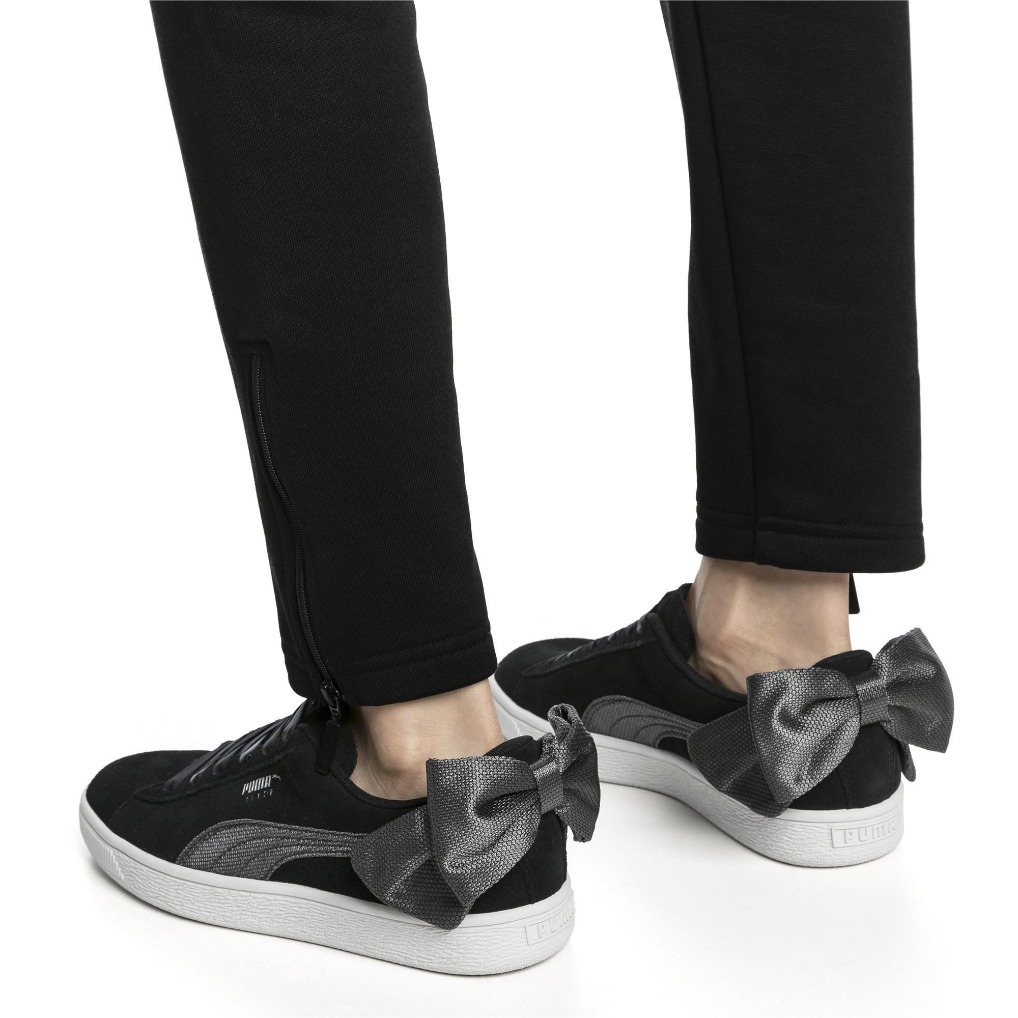 Suede Bow Hexamesh Women's Sneakers