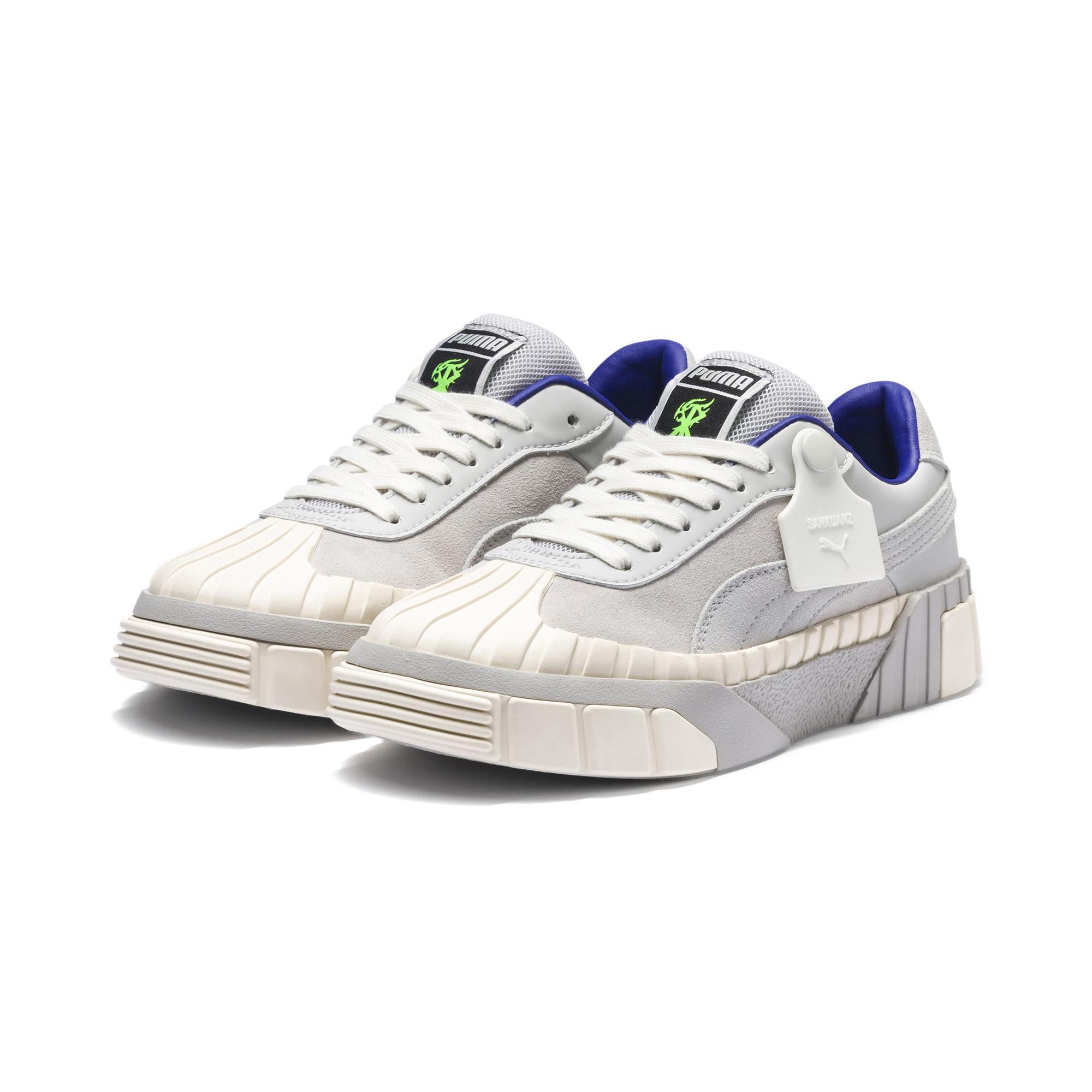 PUMA White Cali Sankuanz Women's Sneakers for men