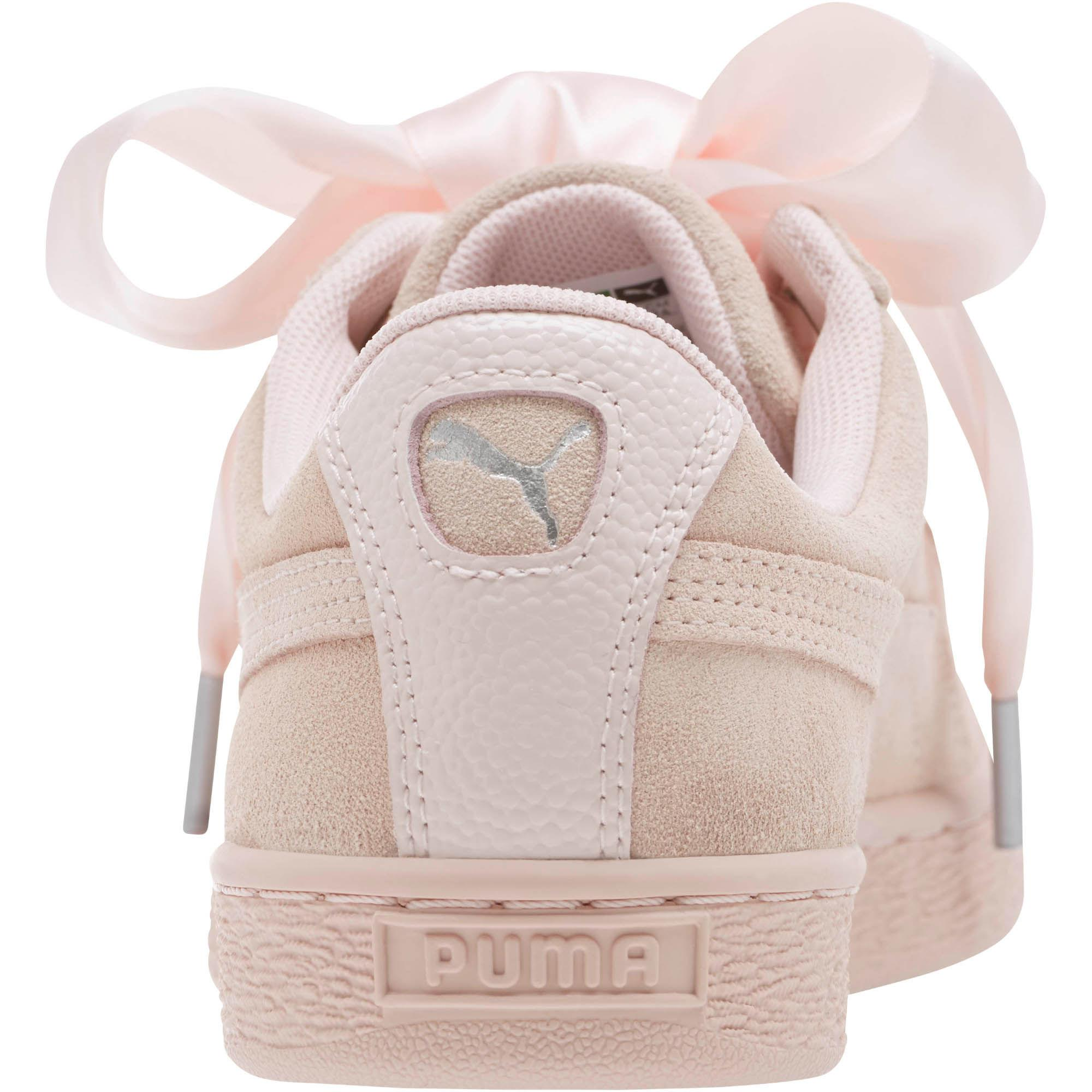 Lyst In Heart Sneakers Bubble Suede Women's Puma Pink rwrqFZOx