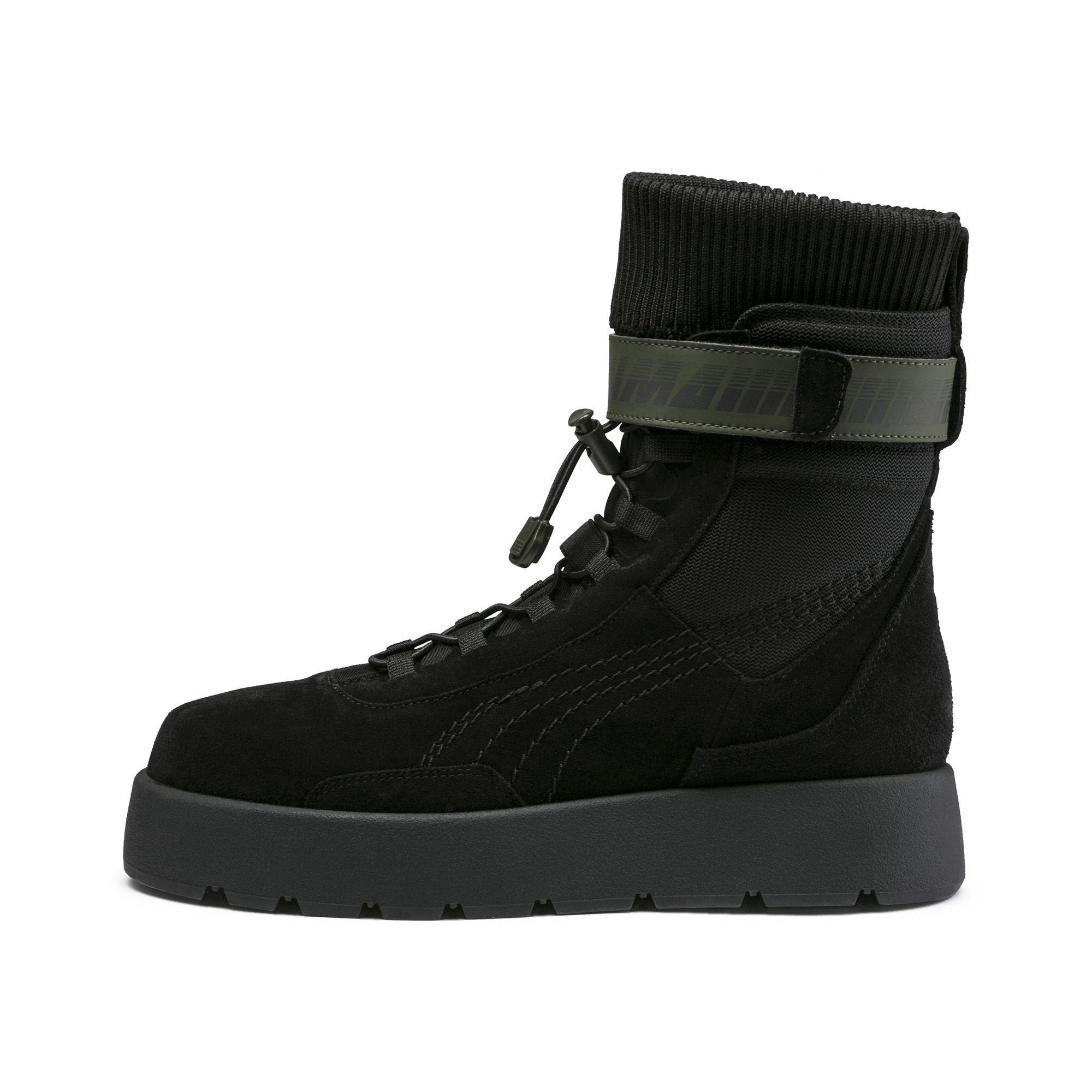 b175438119fbb4 Lyst - PUMA Fenty Women s Scuba Boot in Black