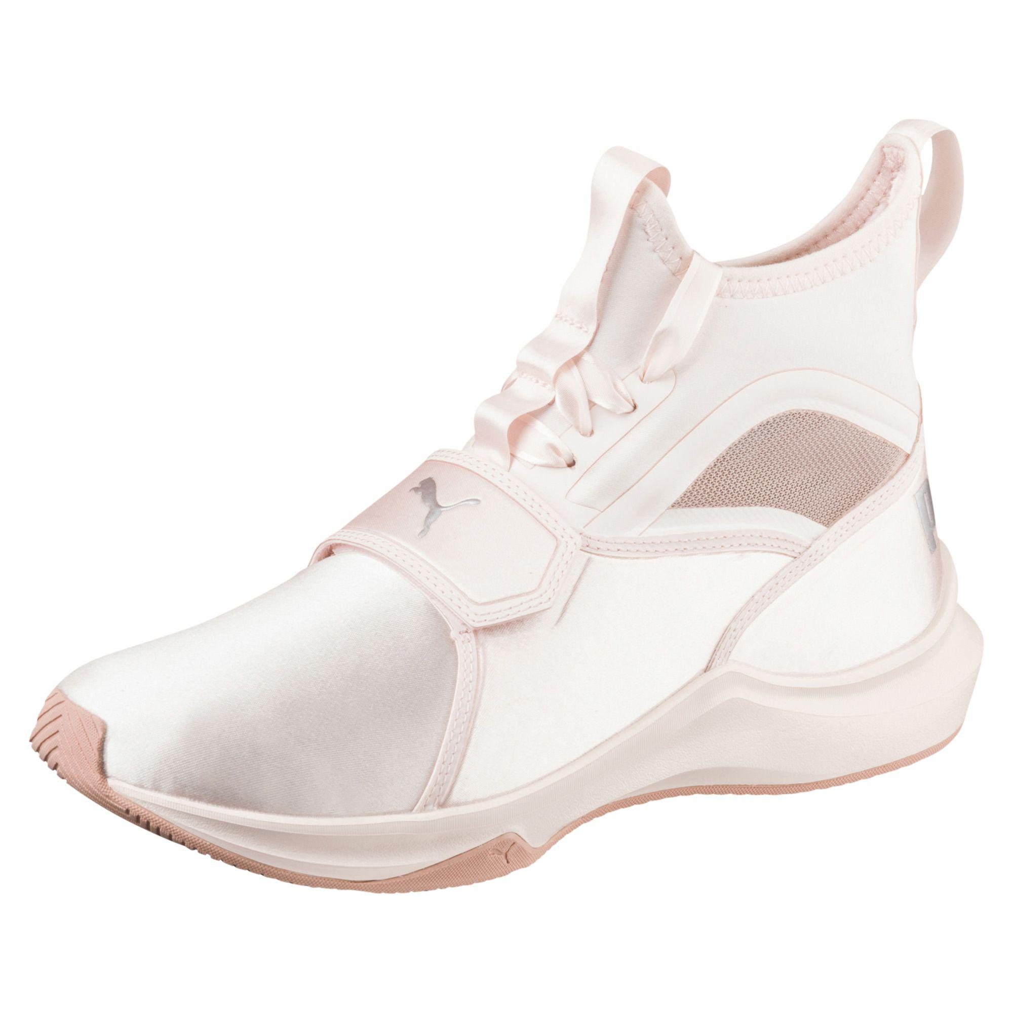 Lyst - PUMA Phenom Satin Ep Women s Training Shoes in White 7bc0970bf