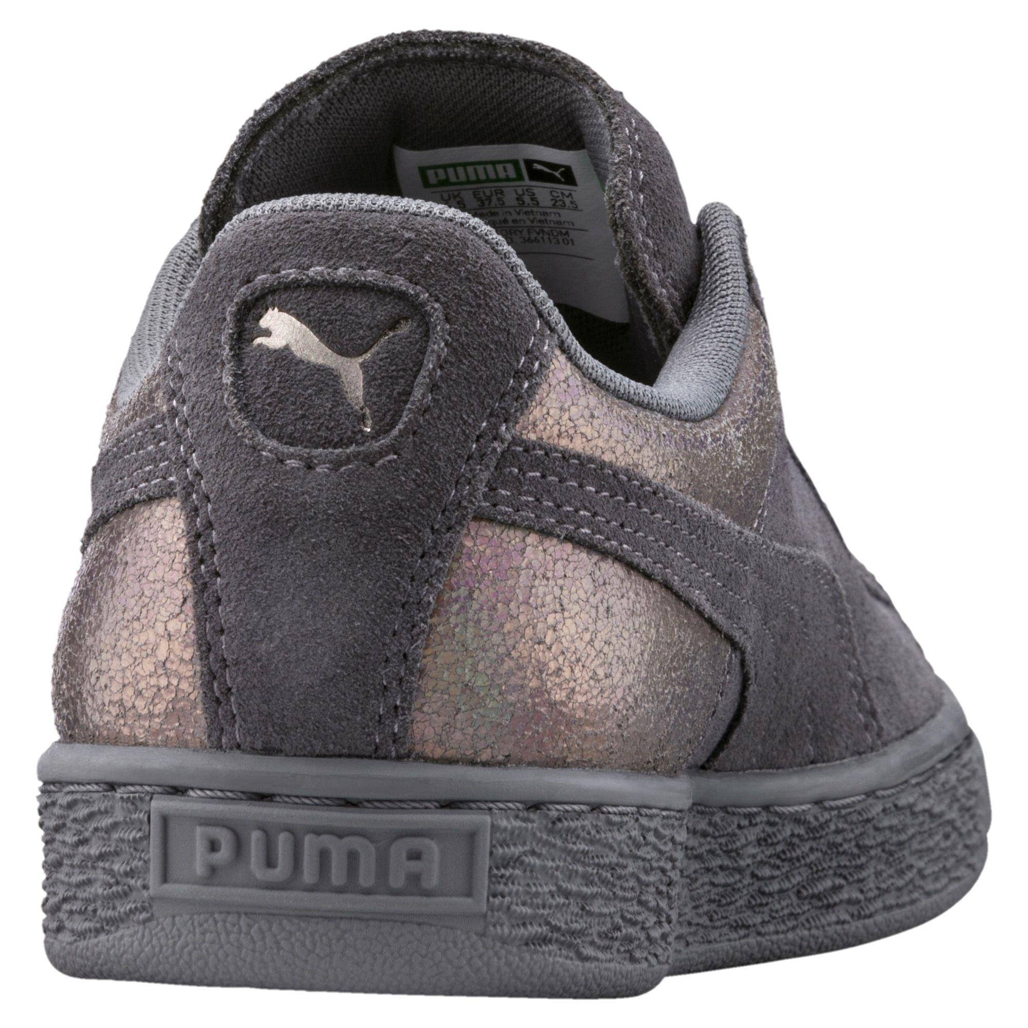 1a687a68c932 Lyst - PUMA Suede Lunar Lux Women s Sneakers in Gray