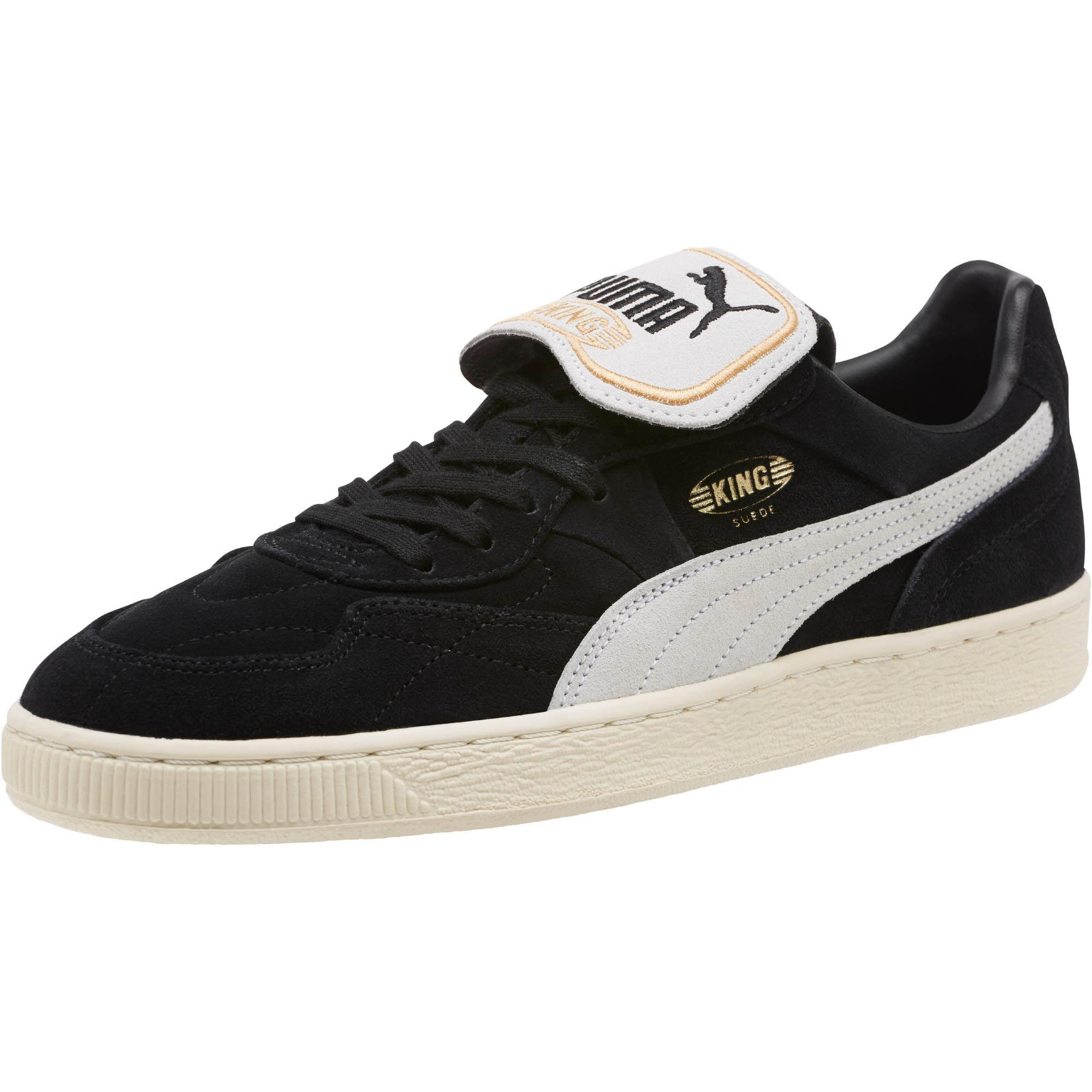 PUMA King Suede Legends in Black for