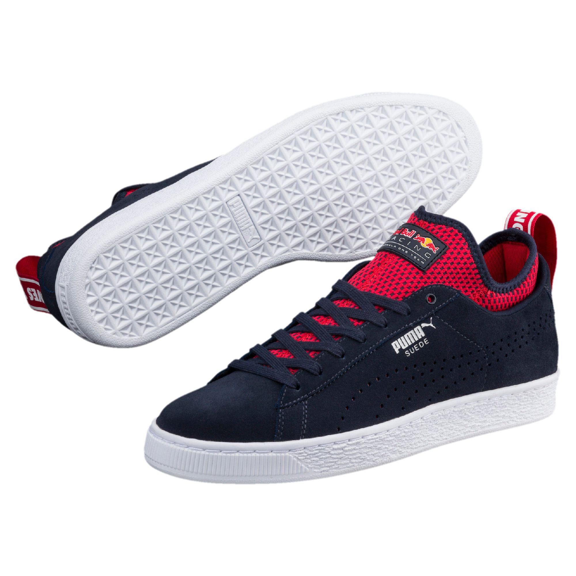 PUMA Red Bull Racing Suede Sneakers for