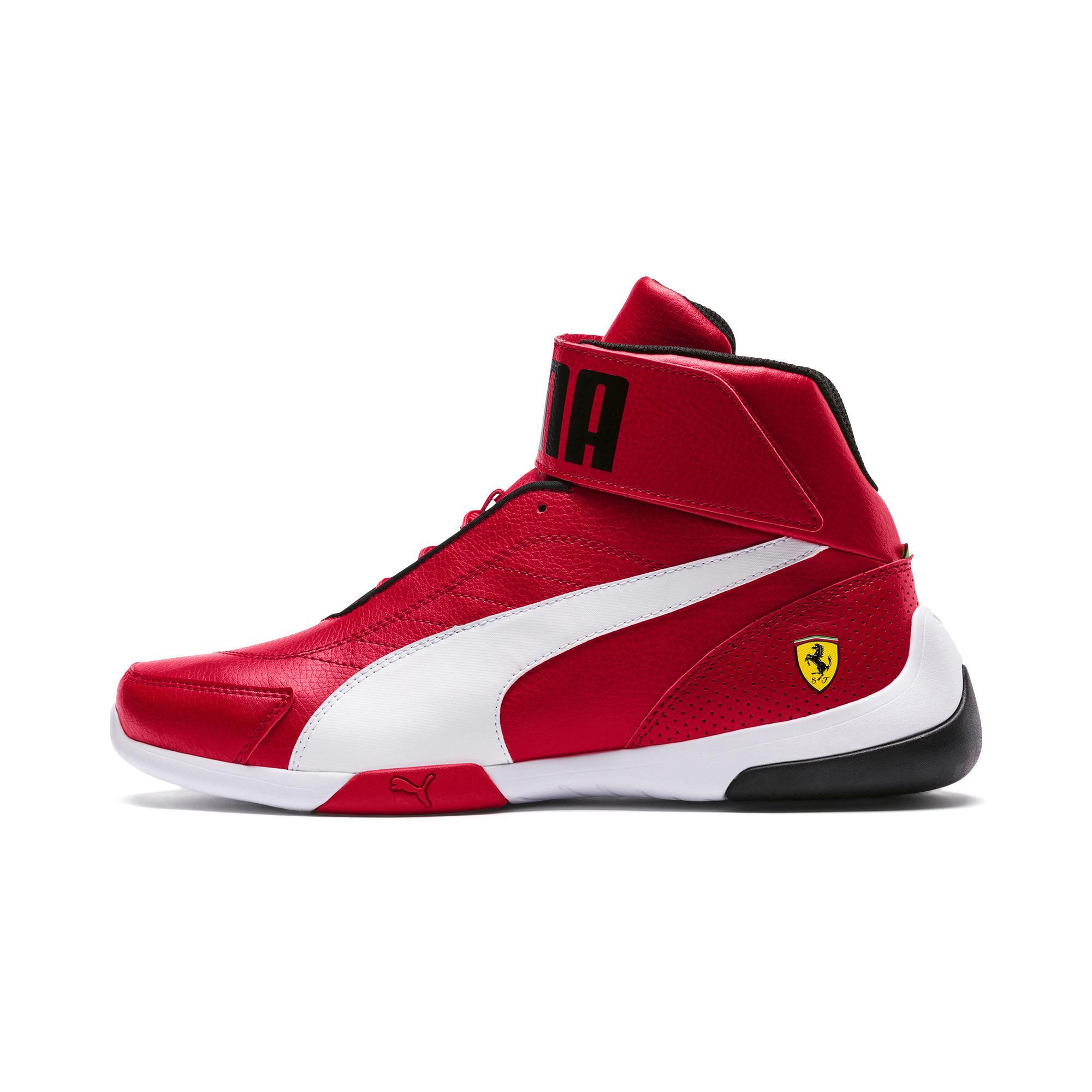 PUMA Ferrari Kart Cat Mid Iii Sneaker in 01 (Red) for Men - Lyst