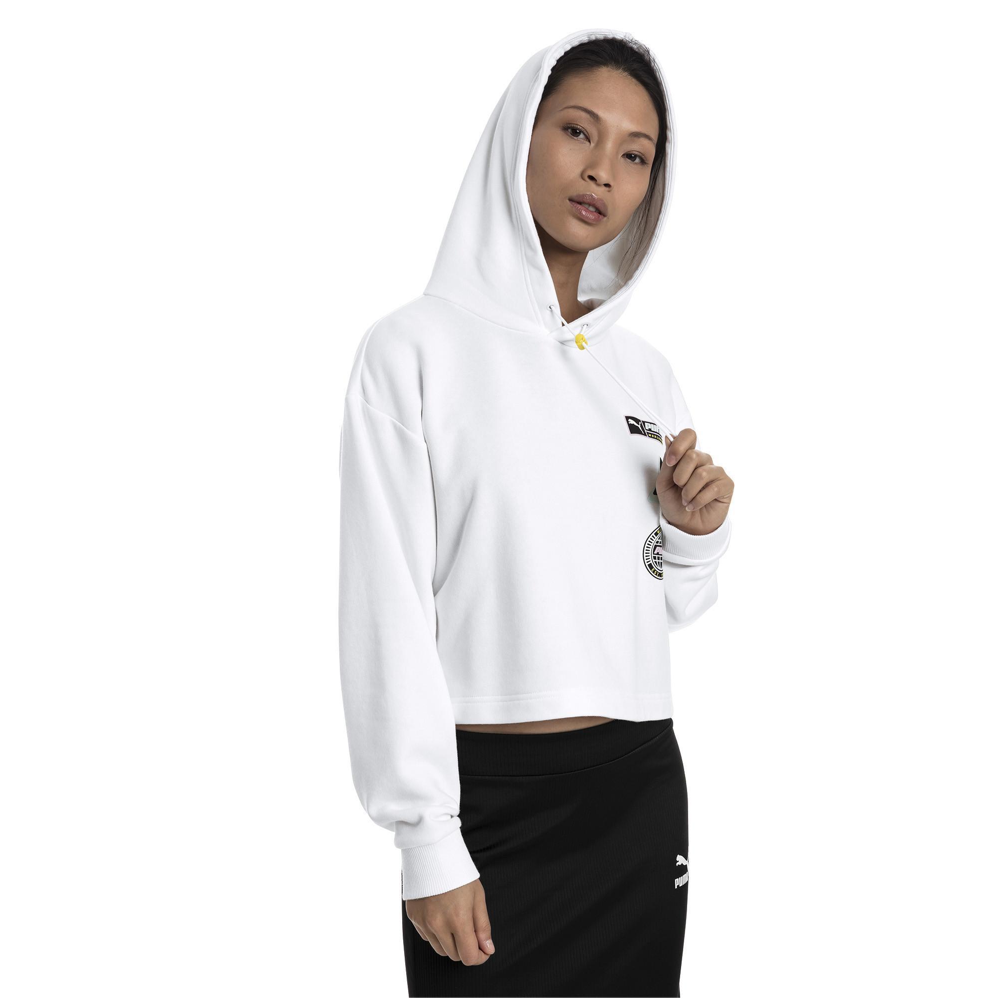 6cfbcfe490 White Trailblazer Women's Hoodie