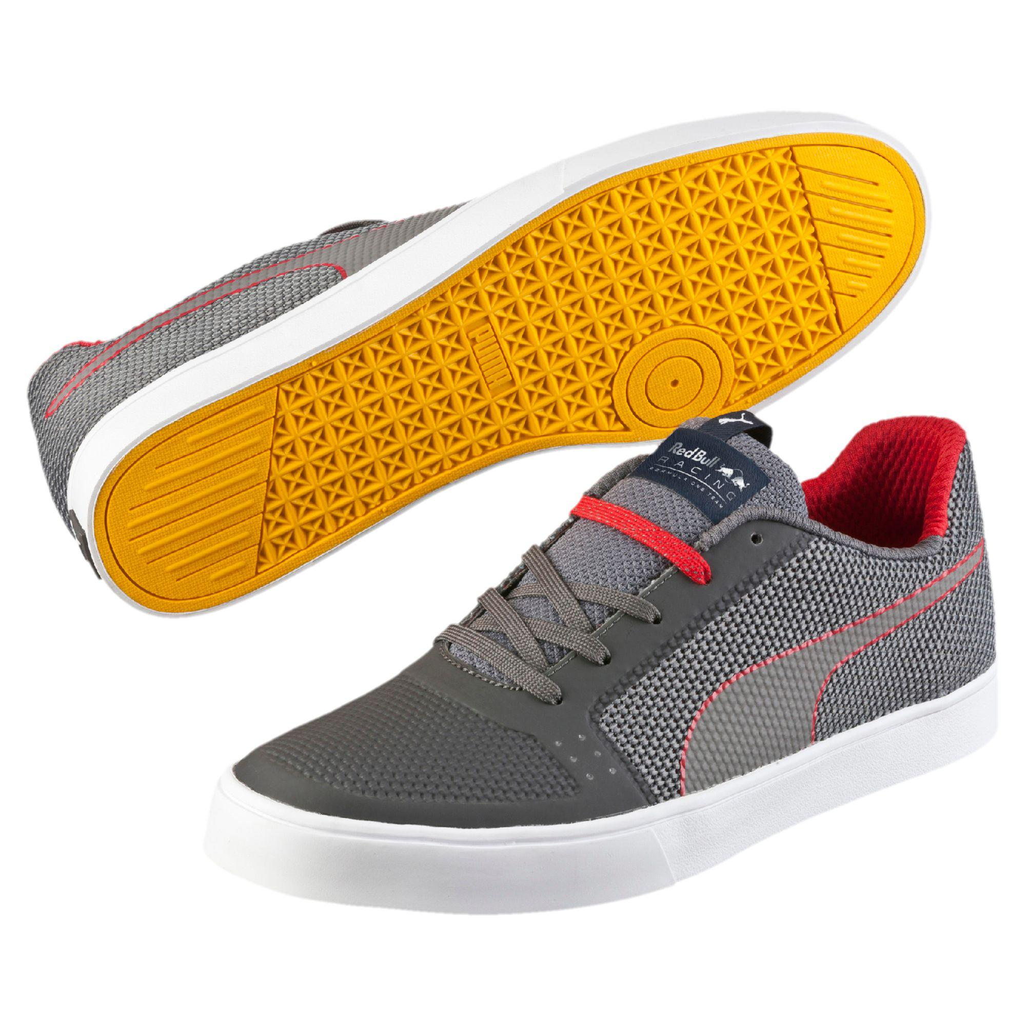 lyst puma red bull racing wings vulc men 39 s shoes in brown for men. Black Bedroom Furniture Sets. Home Design Ideas