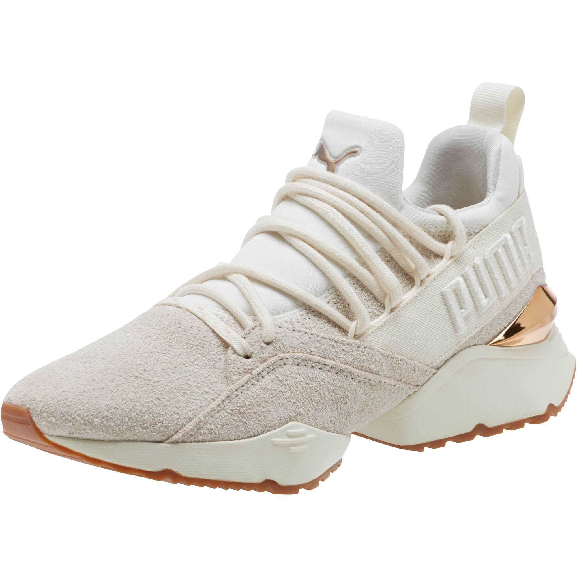 e406070aa6df94 Lyst - PUMA Muse Maia Util Women s Sneakers