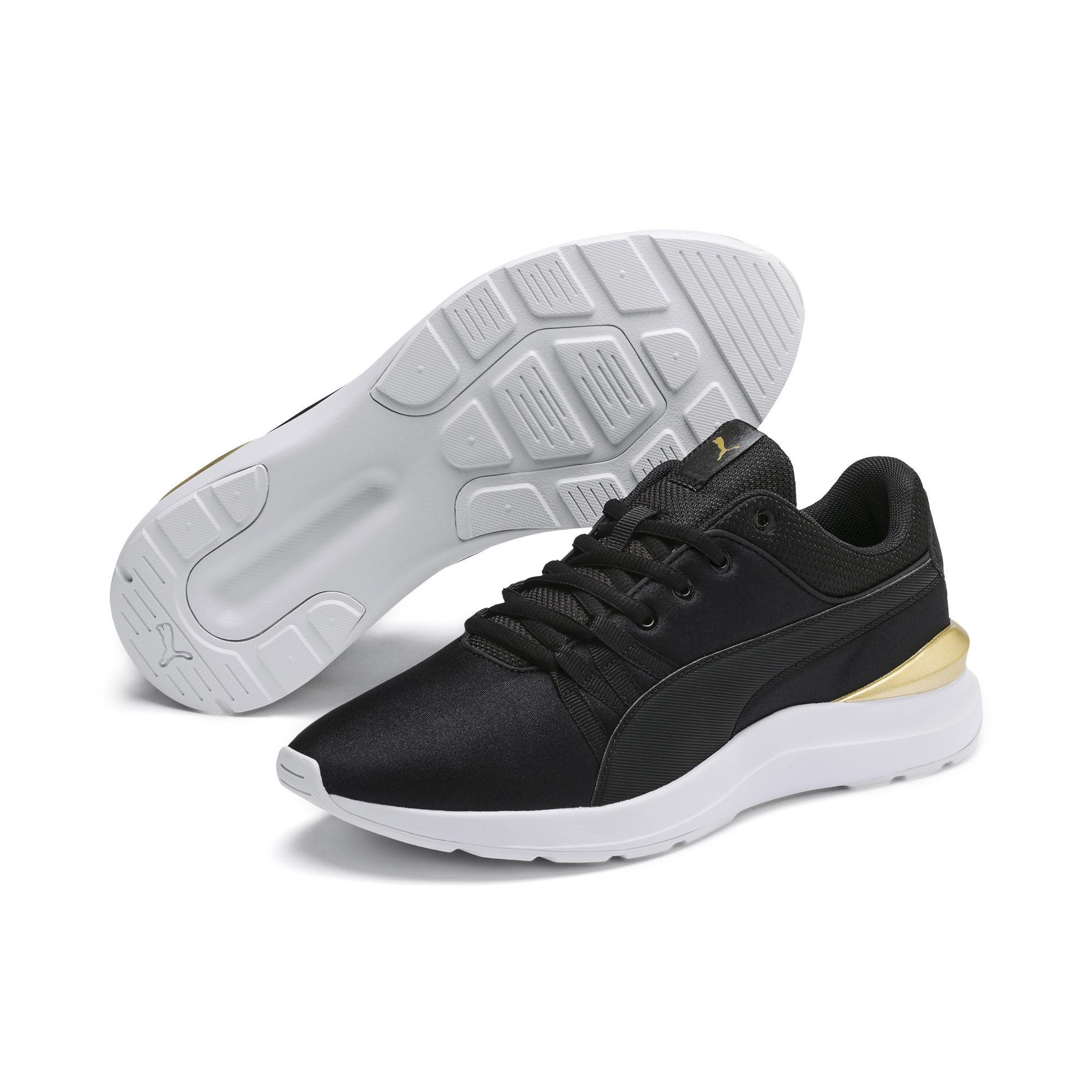 PUMA Adela Sneaker in Black - Lyst