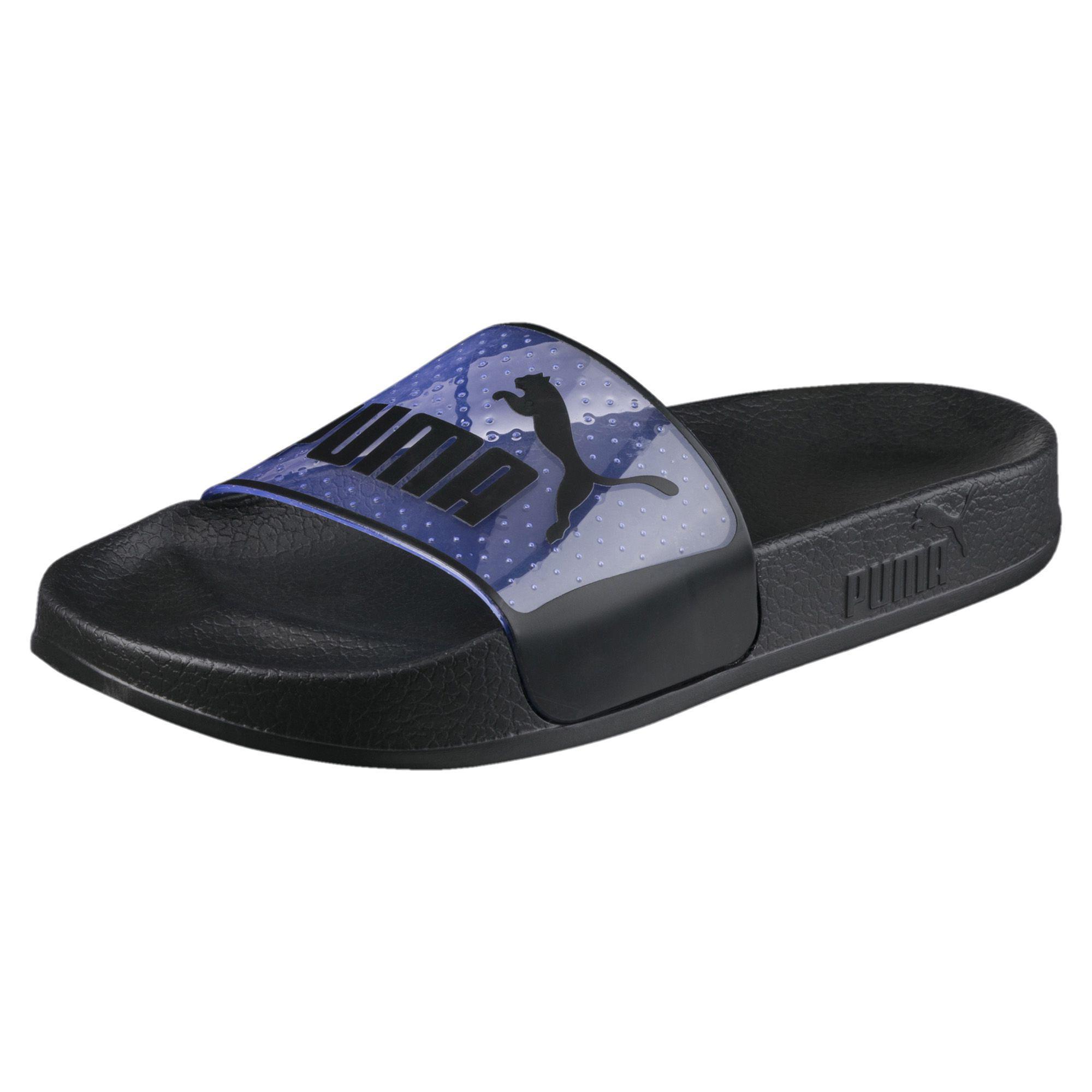 PUMA Synthetic Leadcat Slide Sandal in Blue for Men - Lyst