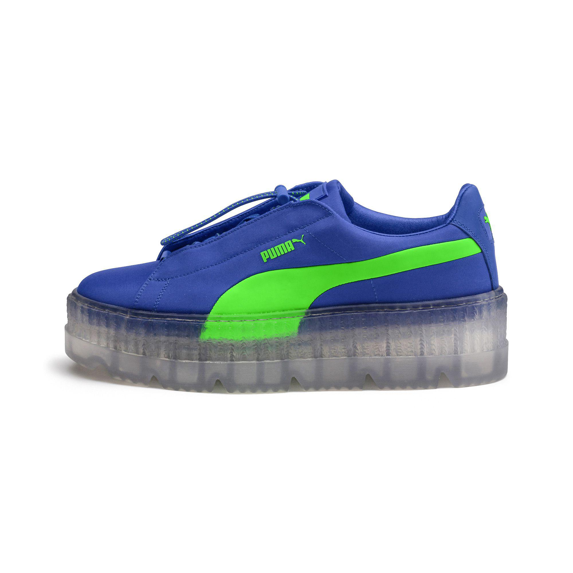 best website 1aba4 d69e3 Blue Fenty Women's Cleated Creeper Surf