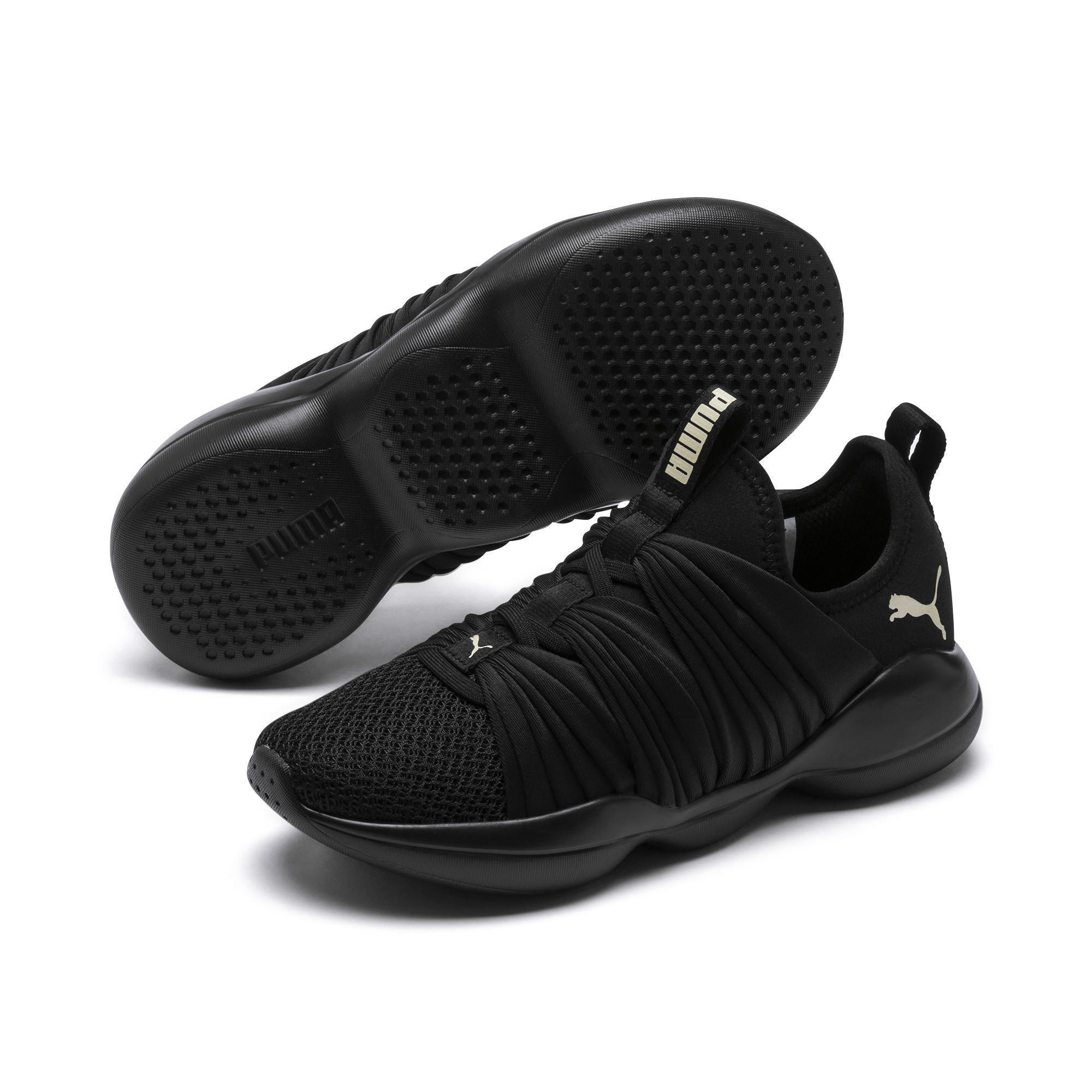 PUMA - Black Flourish Women s Training Shoes - Lyst. View fullscreen 2243ad103
