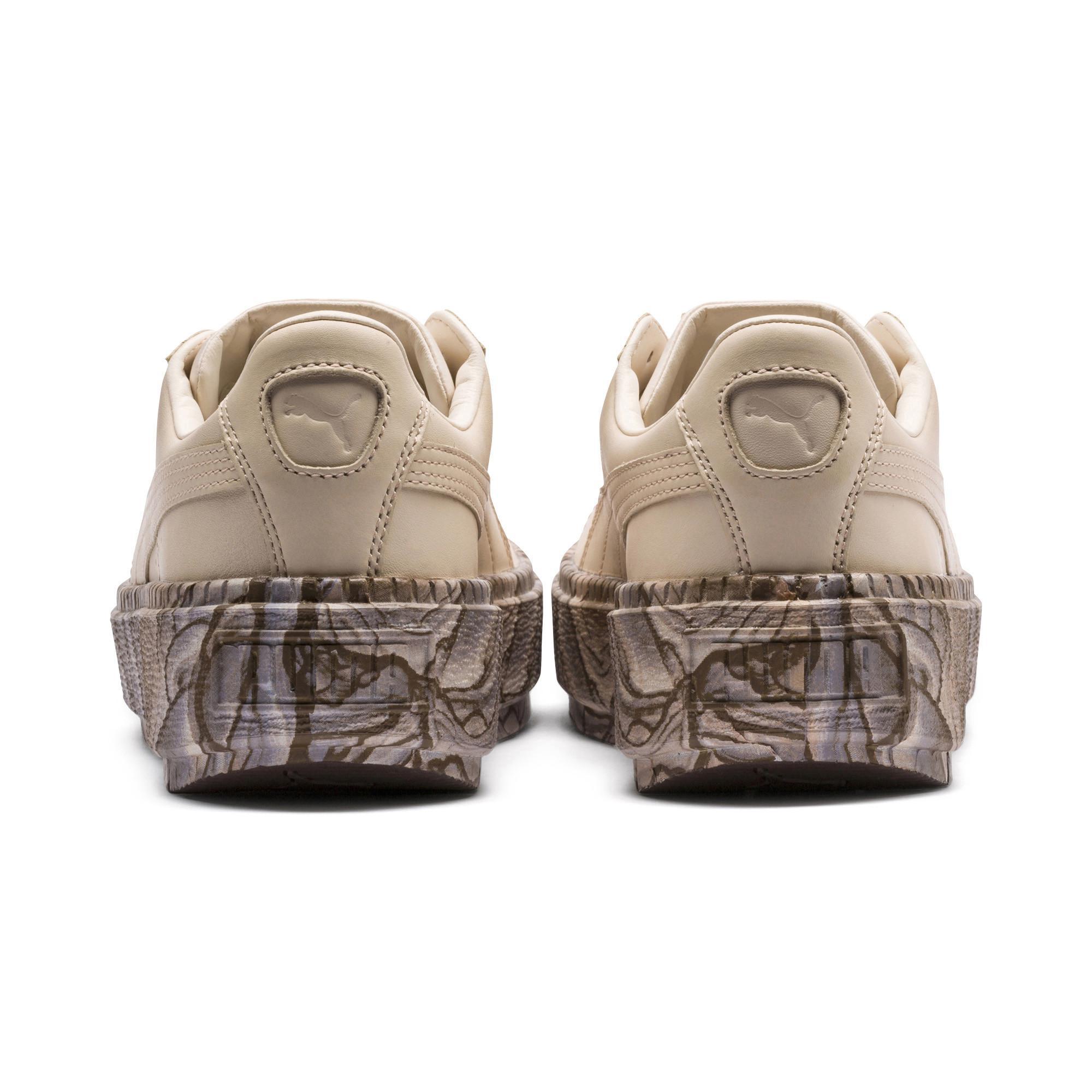 edca2619e74 Lyst - PUMA Platform Trace Mimicry Women s Sneakers in Natural