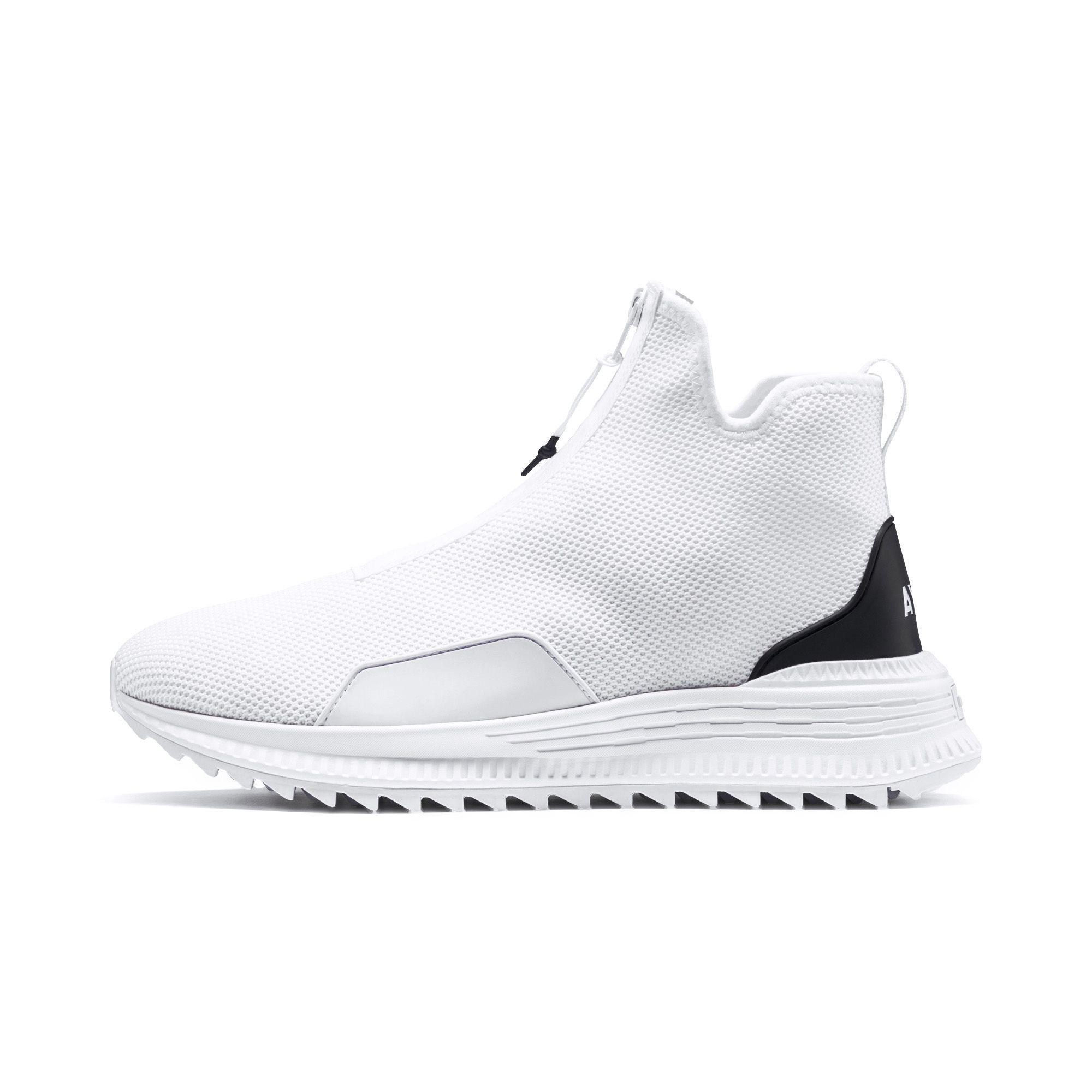 1184c37437580 PUMA White X Outlaw Moscow Avid Zip Sneakers