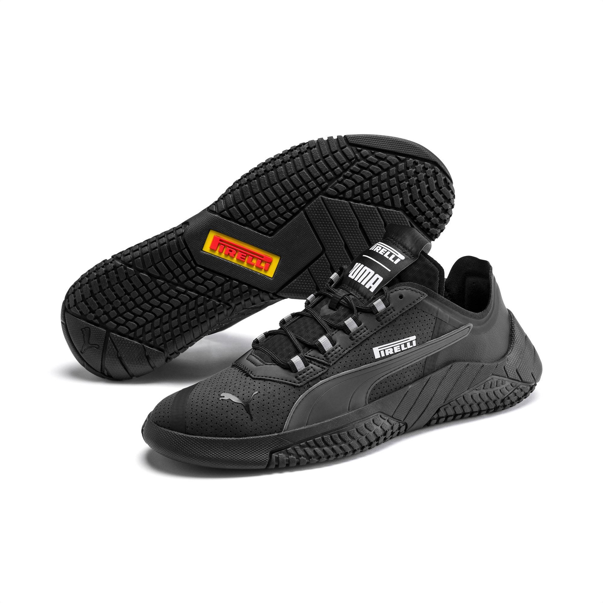 PUMA Suede Replicat-x Pirelli Motorsport Shoes in p Black-p Black ...