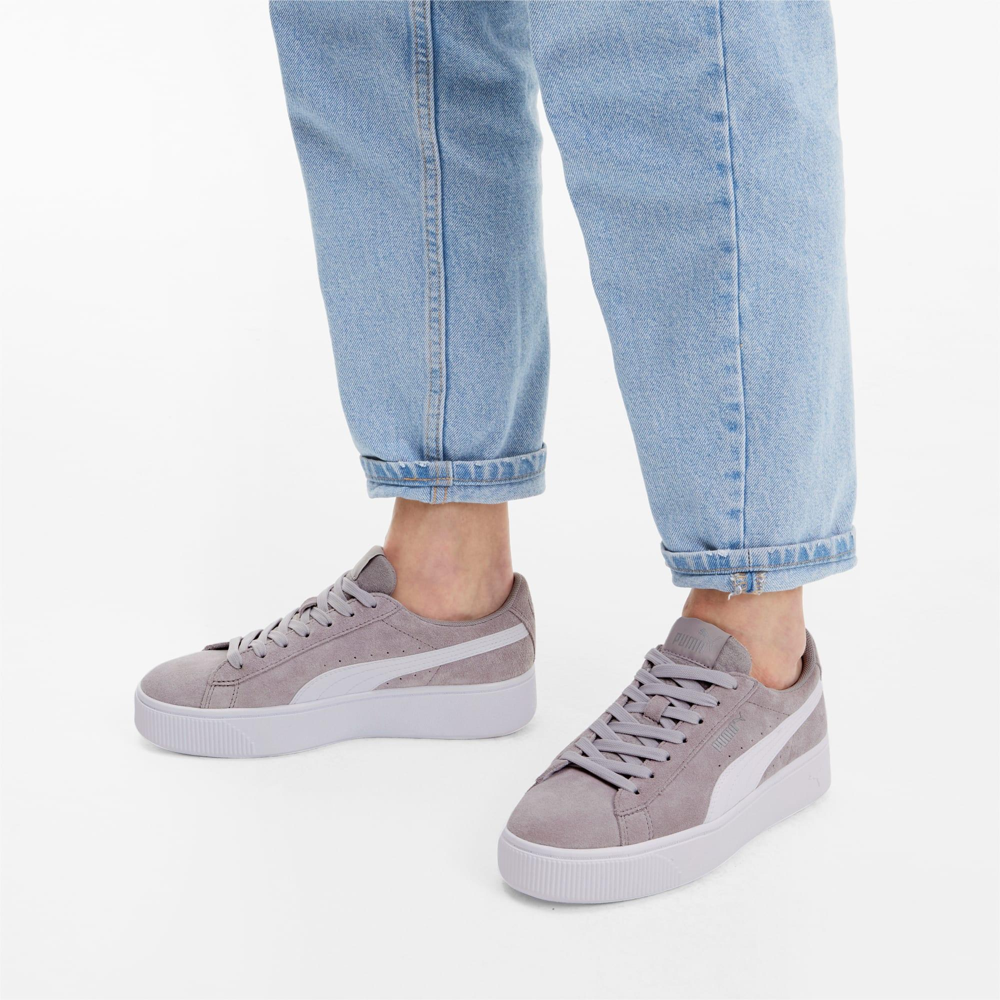 PUMA Vikky Stacked Suede Women's