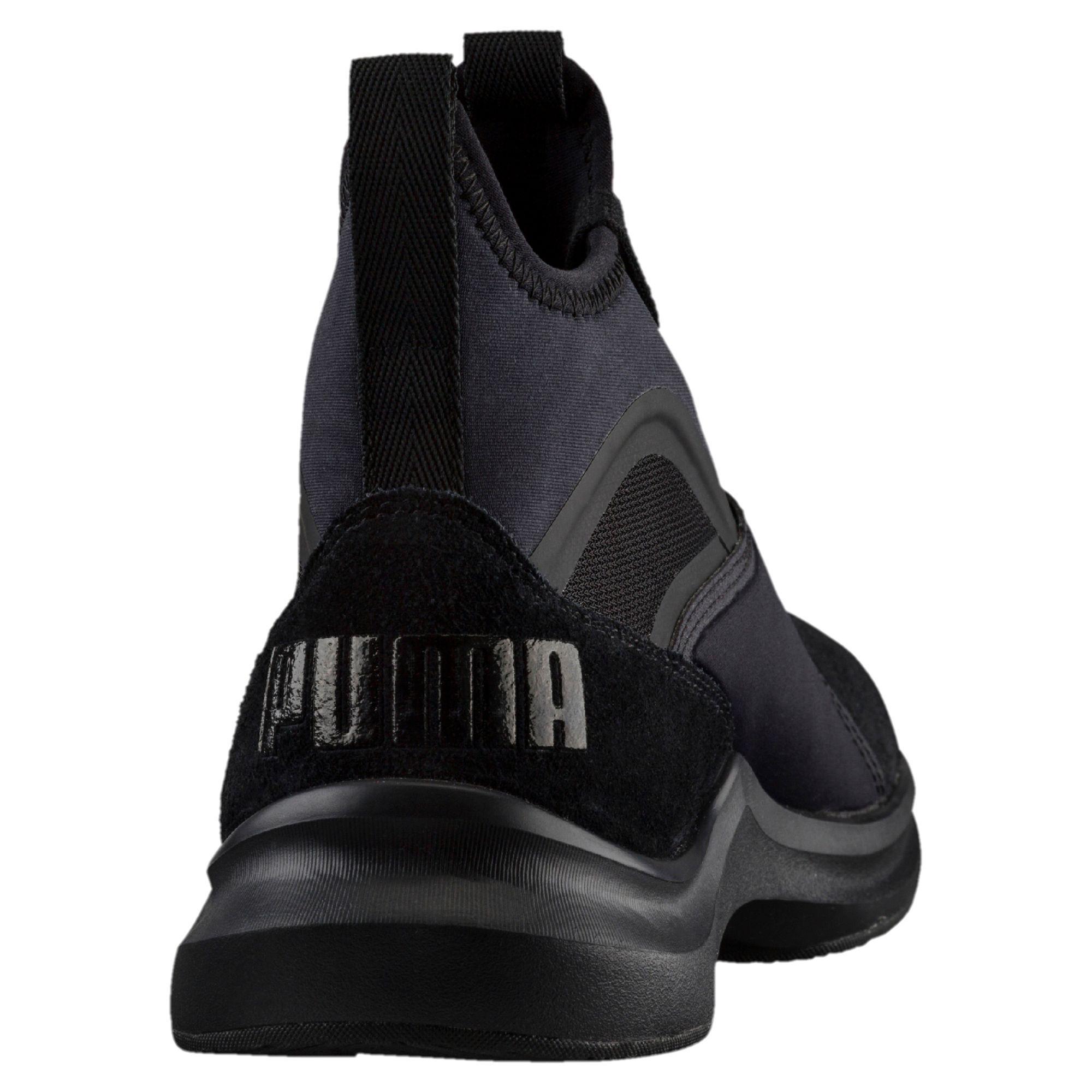 PUMA - Black Phenom Suede Training Shoes - Lyst. View fullscreen 832ed311f