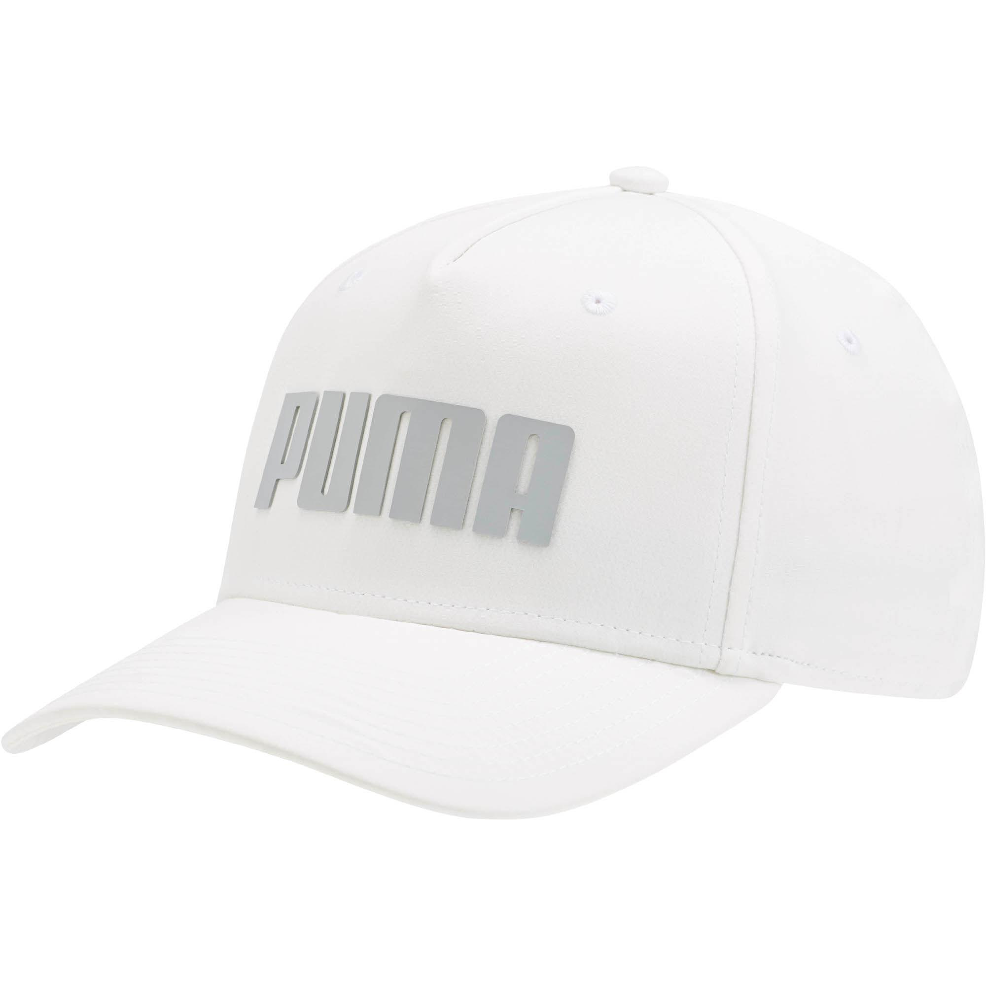 d58f4153cf2 Lyst - Puma Go Time Flex Snapback Hat in White for Men