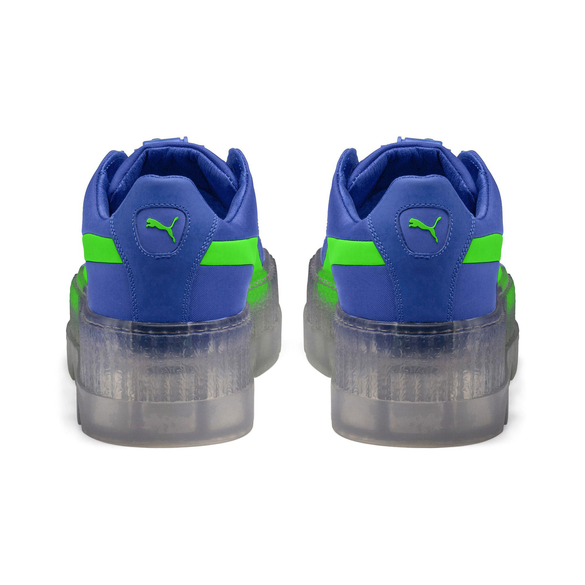 reputable site 16e8a 3bf03 Blue Fenty Unisex Cleated Creeper Surf