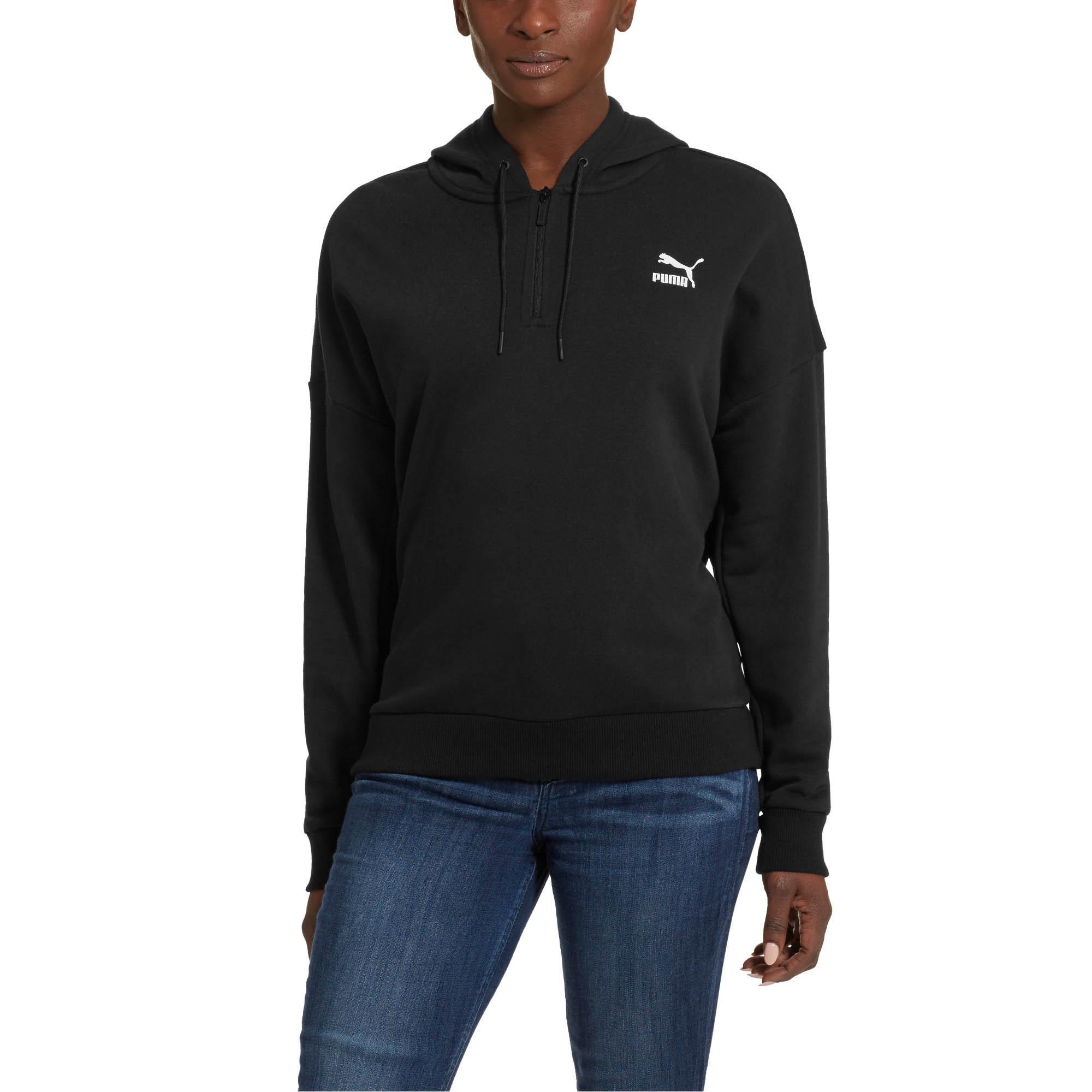 72a736210 Lyst - PUMA Xtg Women's Half Zip Hoodie in Black for Men