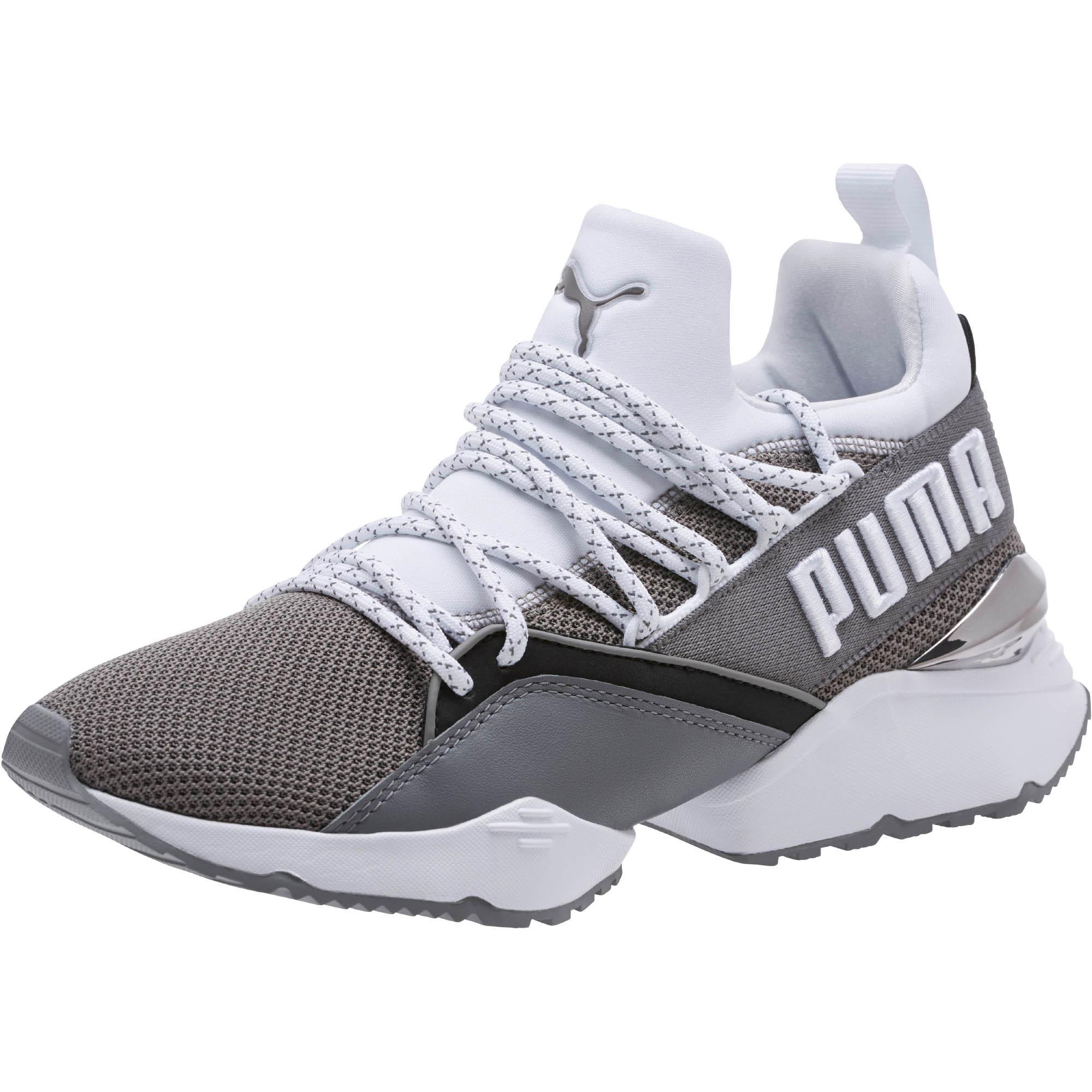 PUMA Muse Maia Smet in Gray - Lyst