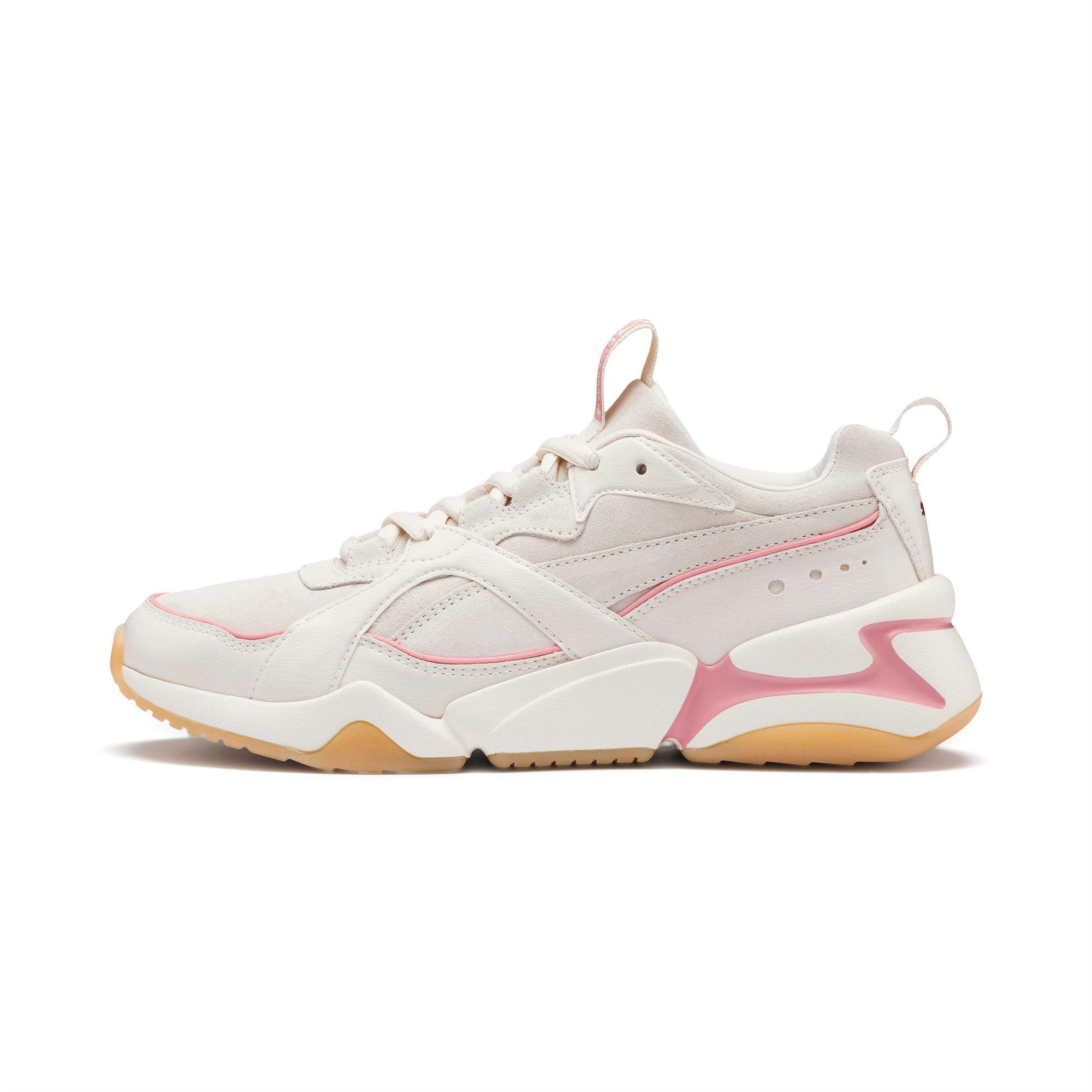 PUMA Nova 2 Suede Women's Sneakers in White - Lyst