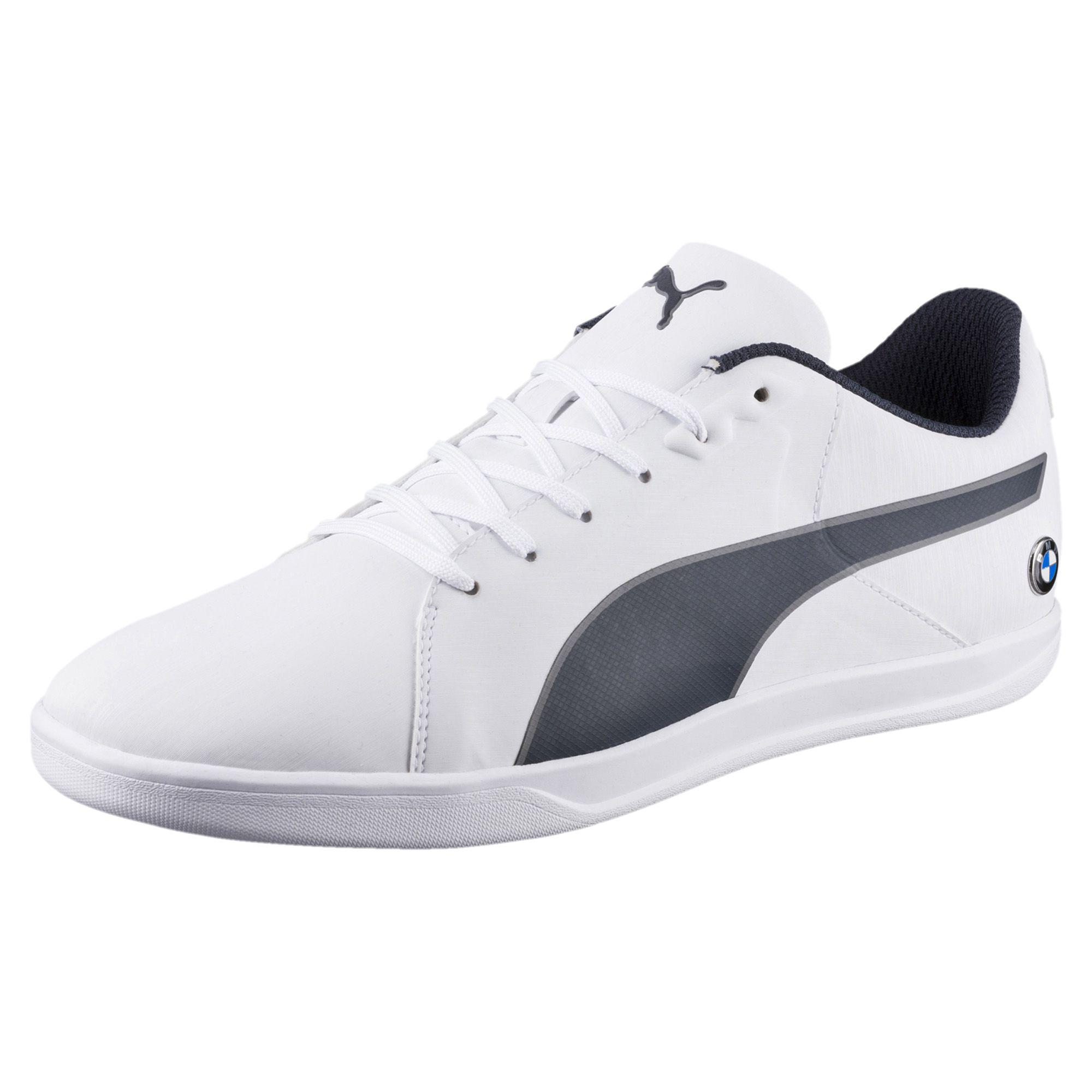 Cheap New Arrivals Puma Bmw Ms Pitlane Men Round Toe Synthetic Blue Sneakers Mens Blue Puma Mens Sneakers