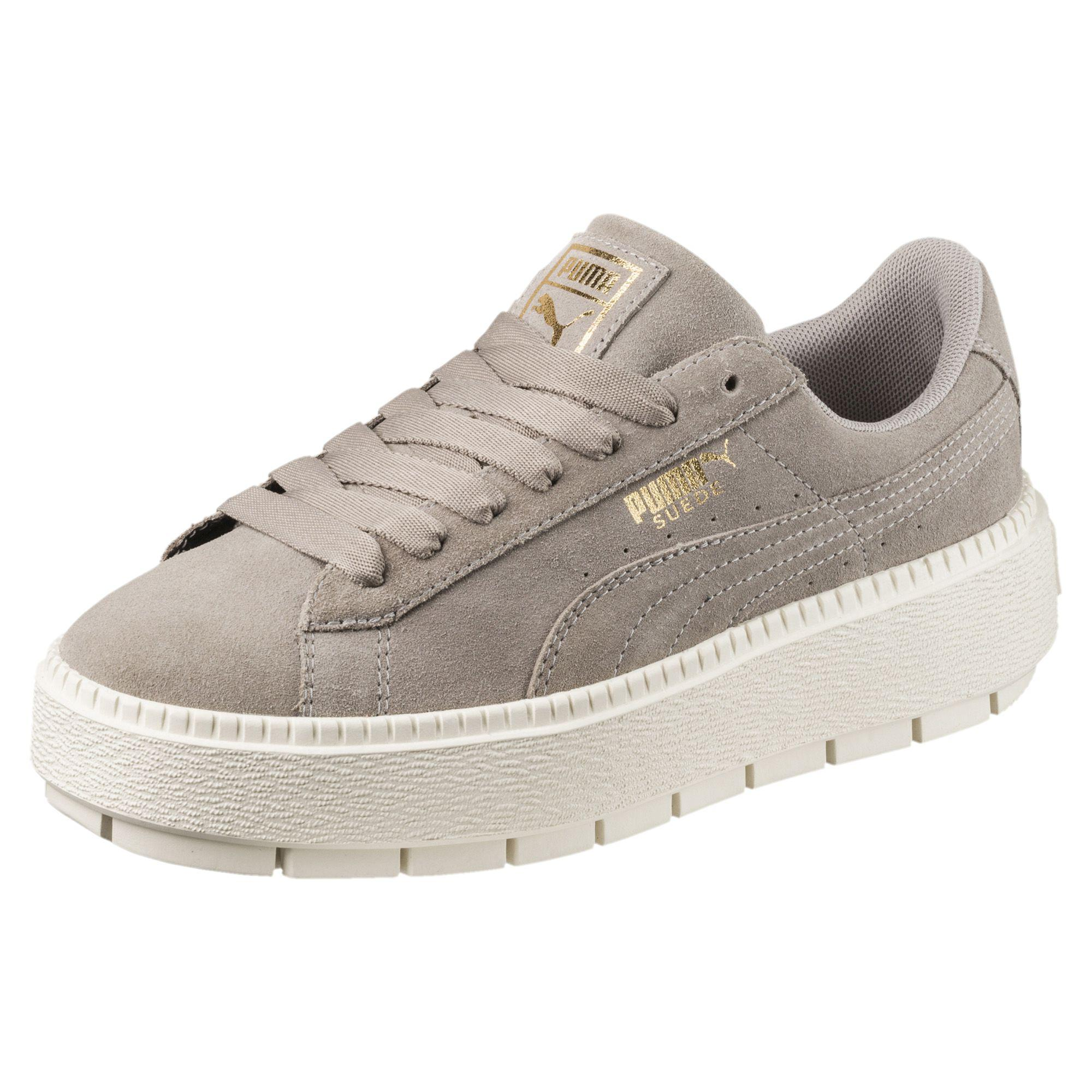8420c87a92c Lyst - PUMA Platform Trace Women s Sneakers