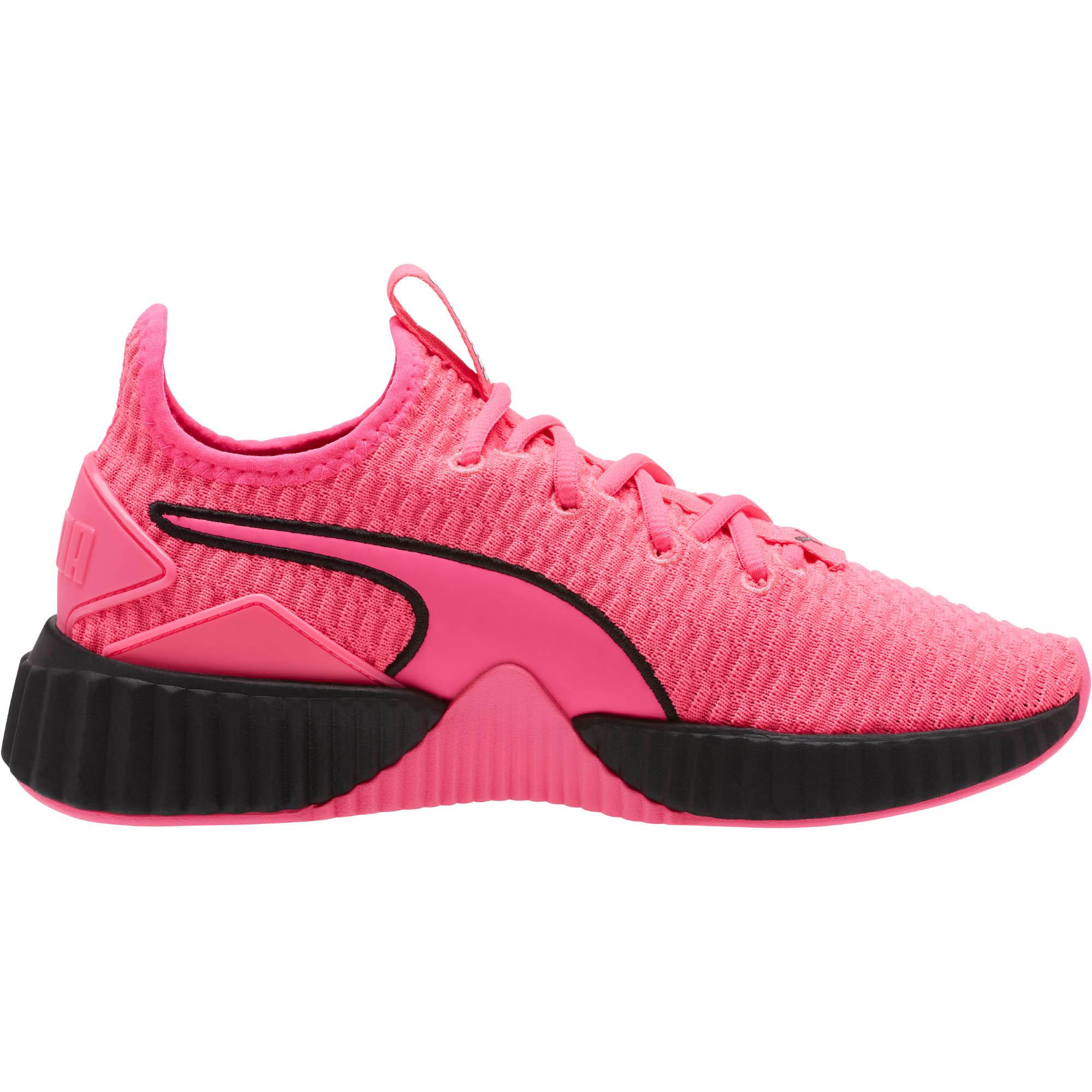 PUMA Defy Women's Sneakers Color KNOCKOUT PINK Puma Black