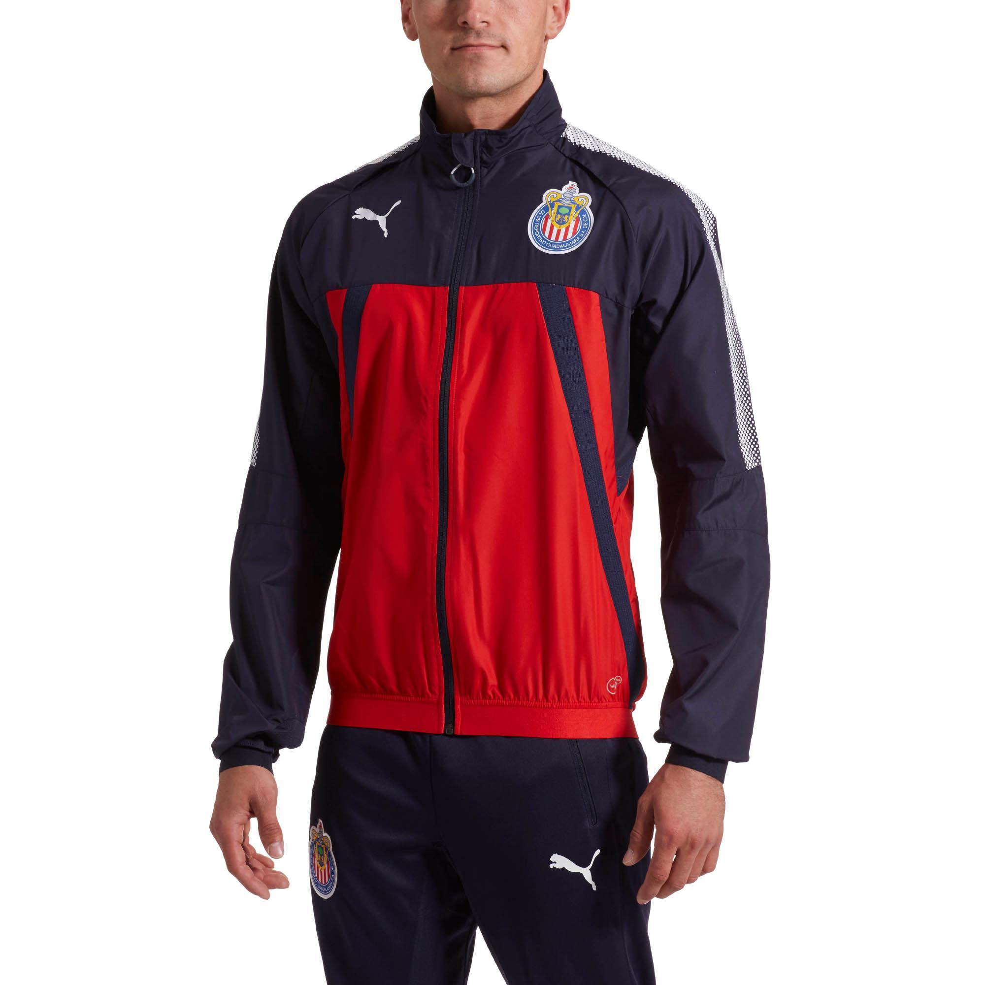 1b955ccfe5786 PUMA Red Chivas Stadium Vent Thermo-r Jacket for men