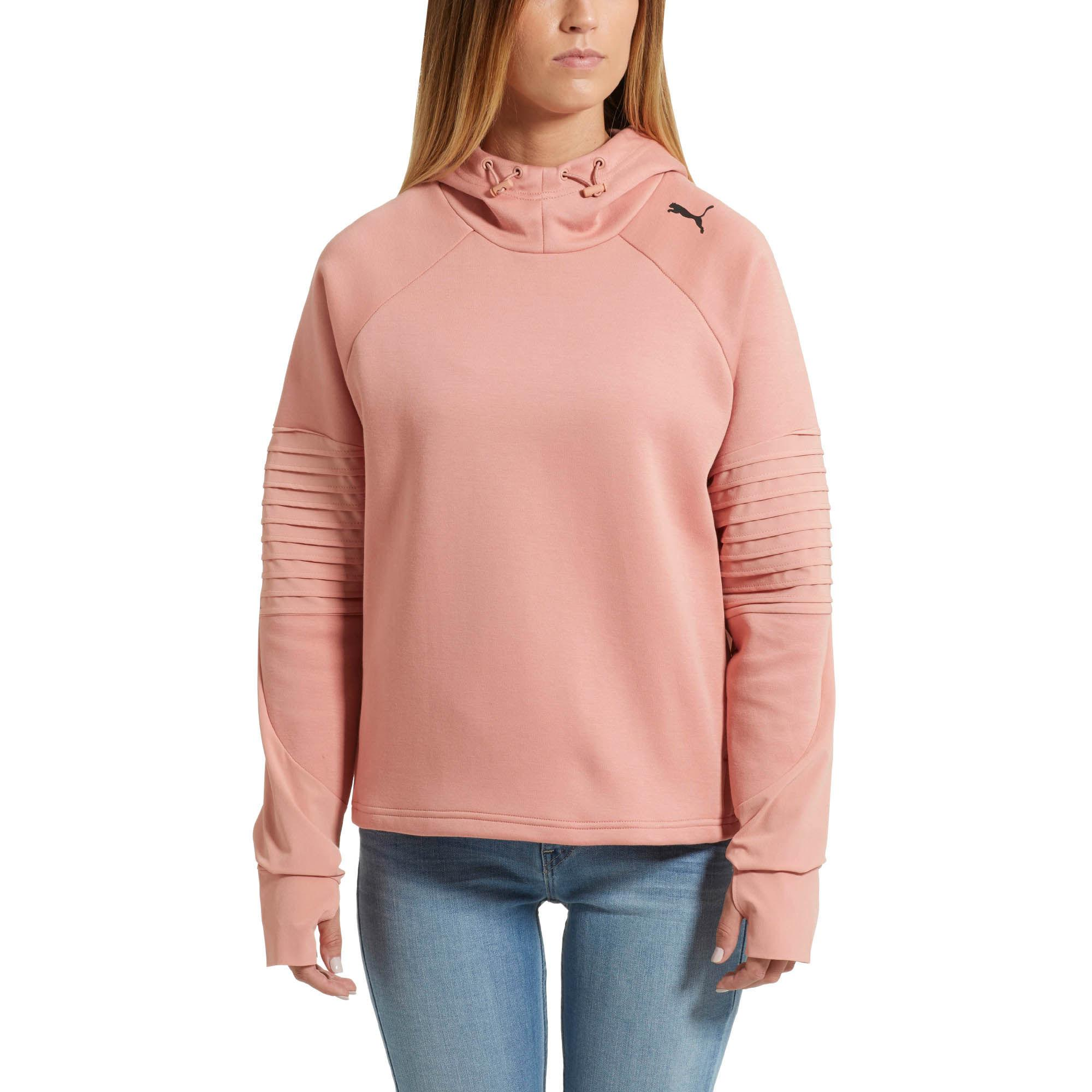 81c0cd22f6 PUMA Pink Evostripe Hoodie