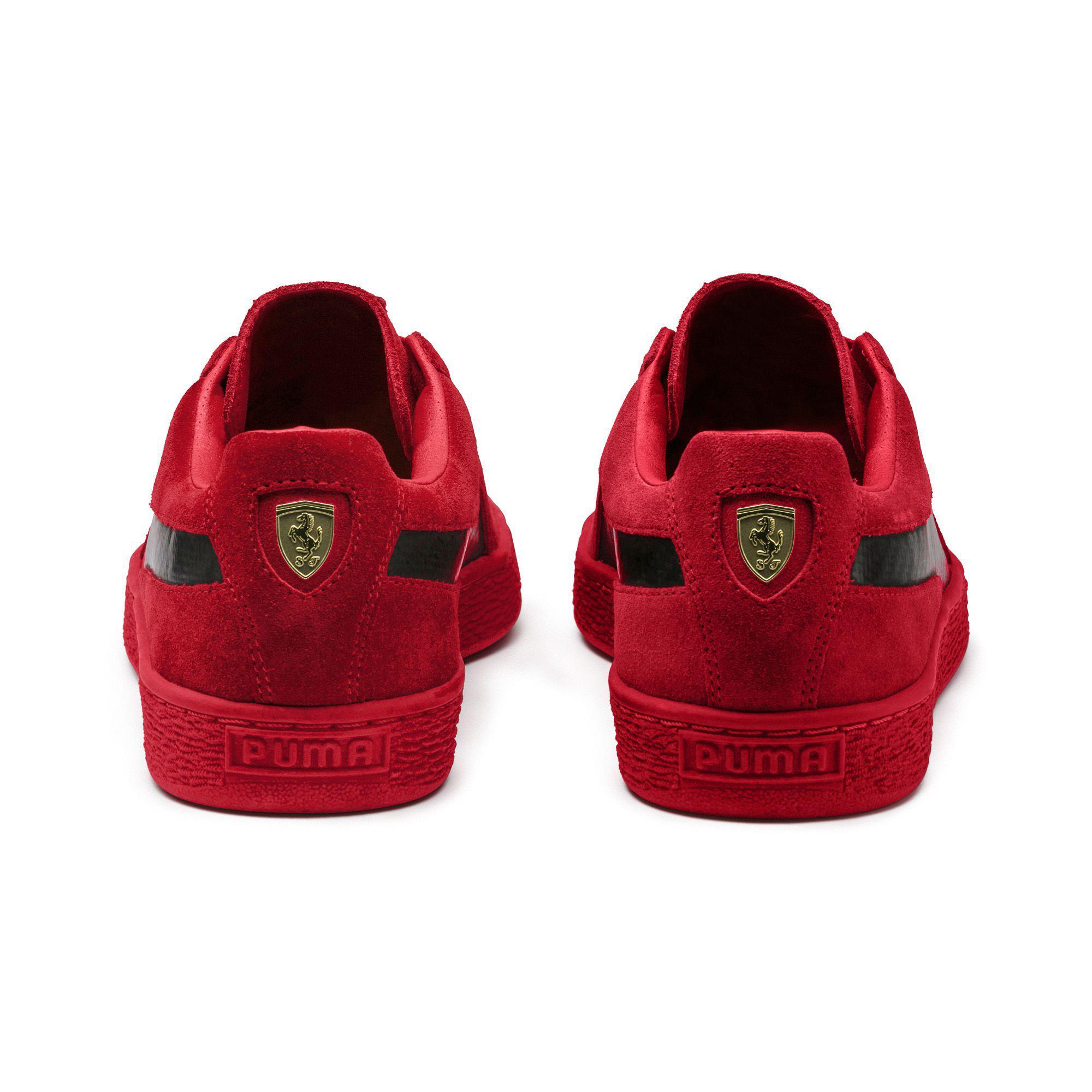 85d03213 PUMA Red X Ferrari Classic Suede