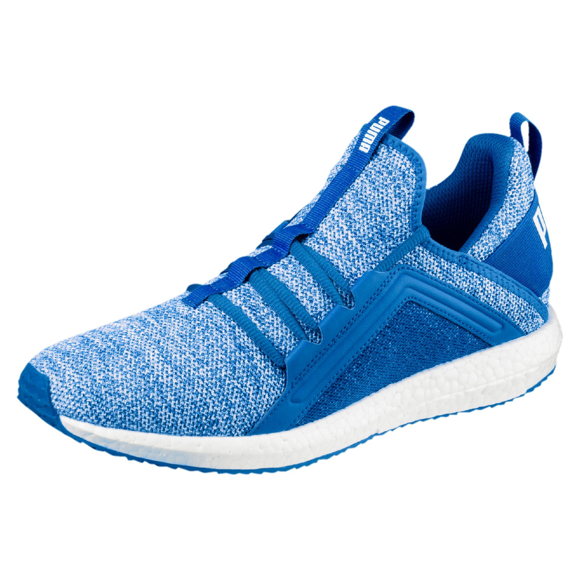 3e4e2c303cab Lyst - Puma Mega Nrgy Knit Men s Trainers in Blue for Men