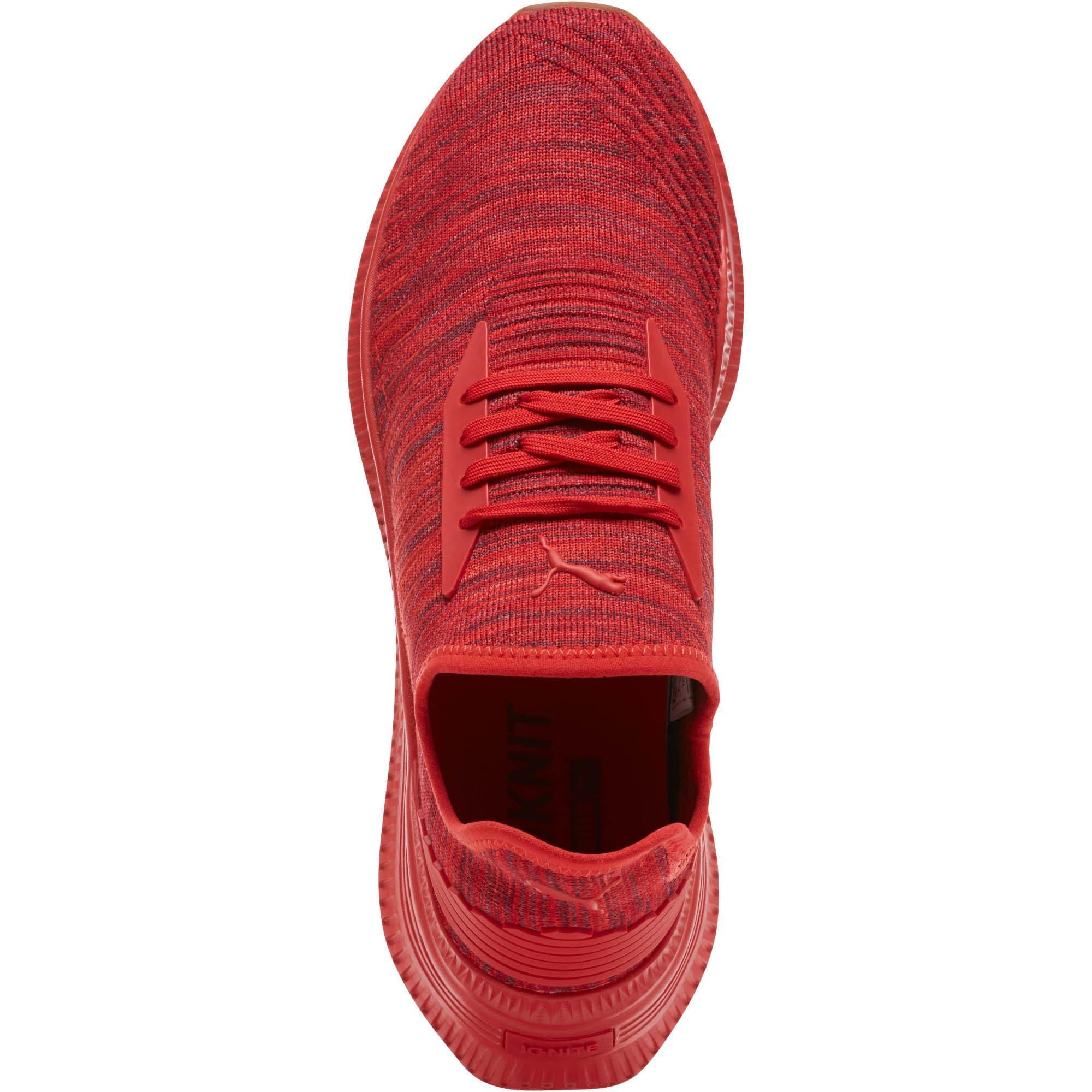 PUMA Rubber Avid Evoknit Su Gum in Red