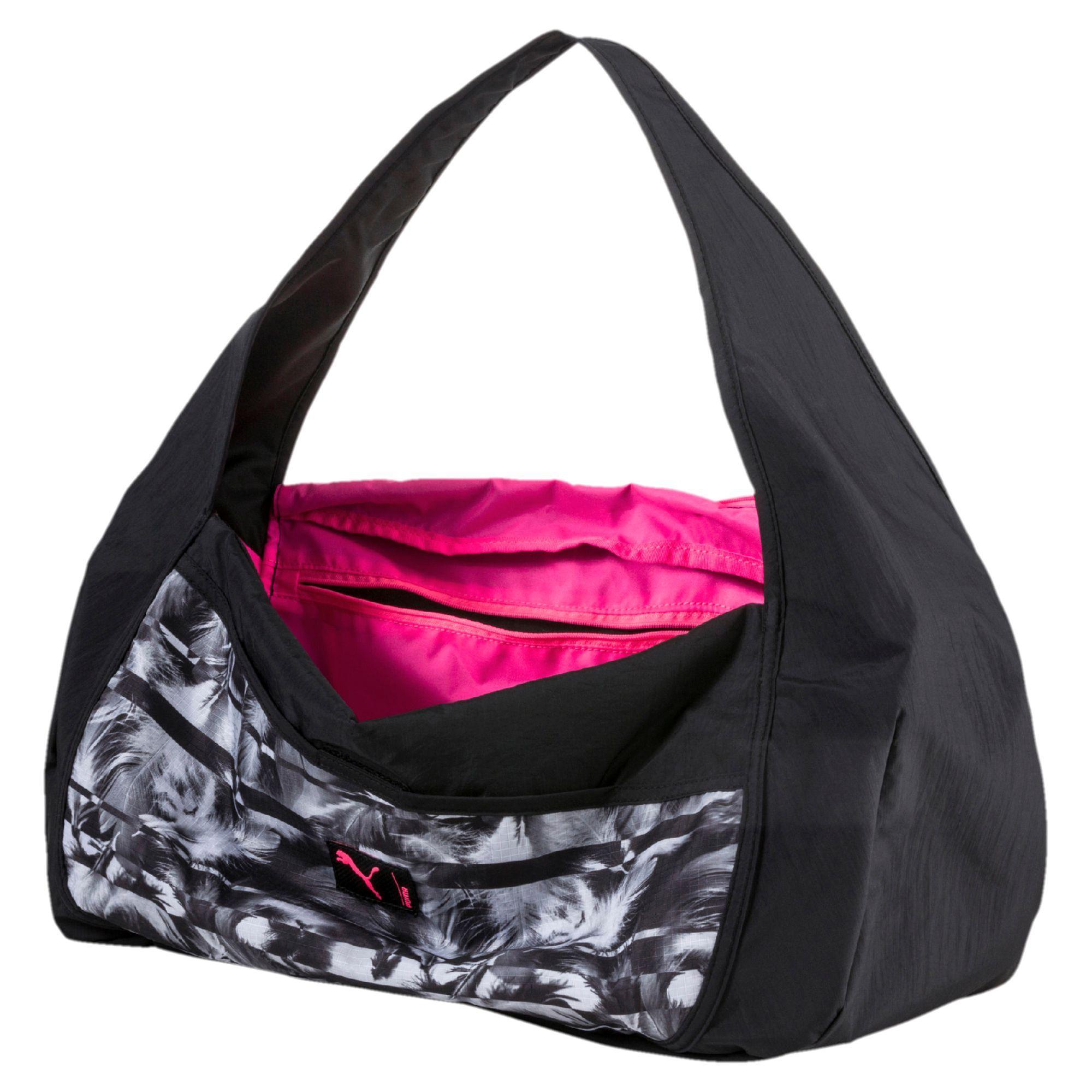 Lyst - PUMA Studio Barrel Duffel Bag in Black ecd1c49e4cc48