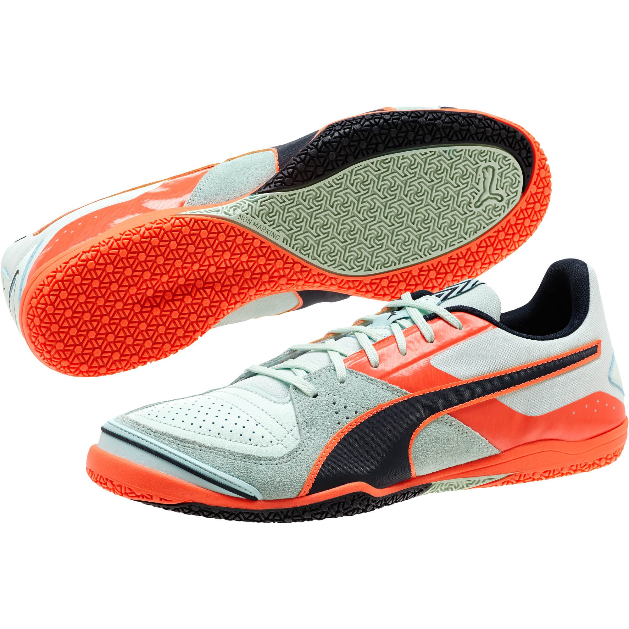 468fe0686 ... real lyst puma invicto sala mens indoor soccer shoes in gray for men  d683a 717e1