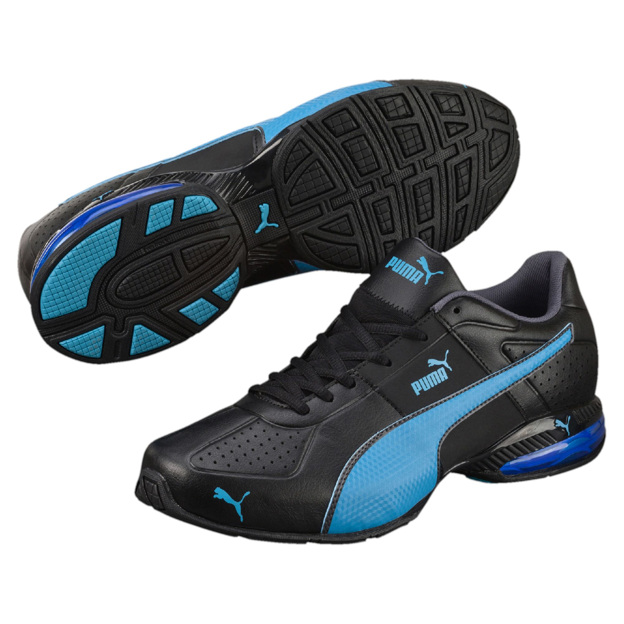 Puma Cell Surin 2 Men's Training Shoes Black Atomic Blue Asphalt