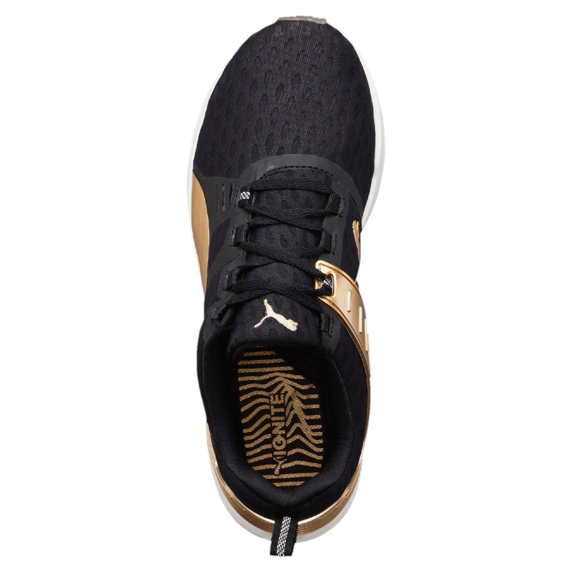 c2960ab9e0a8 Lyst - PUMA Ignite Xt V2 Gold Women s Training Shoes