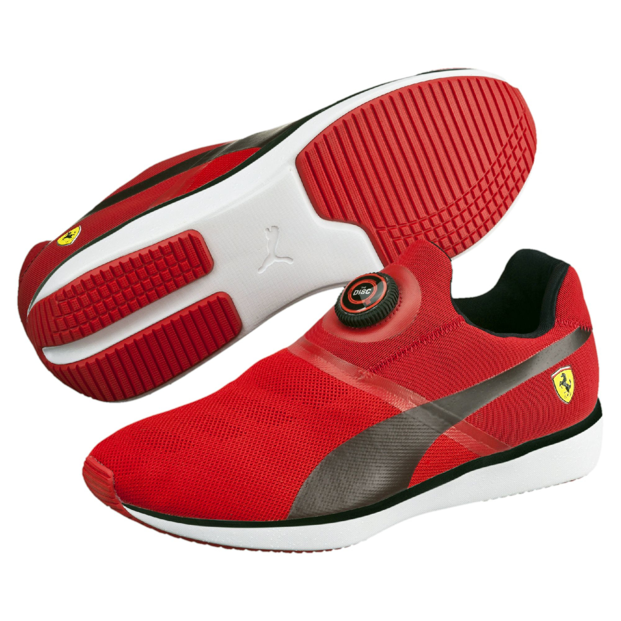 a007a11d9a0 Lyst - PUMA Ferrari Disc Men s Shoes in White for Men