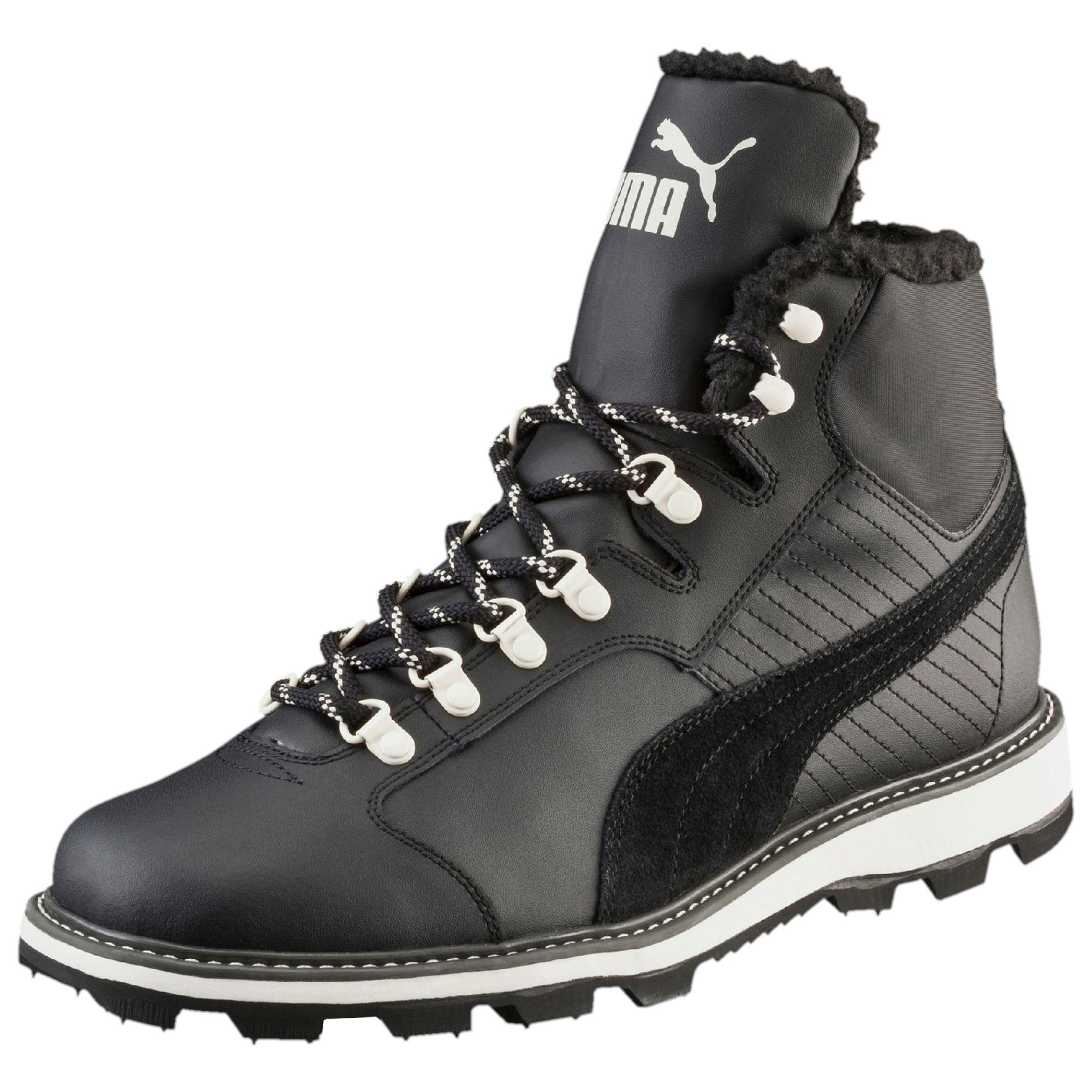 PUMA Tatau Fur Men's Boots in Black