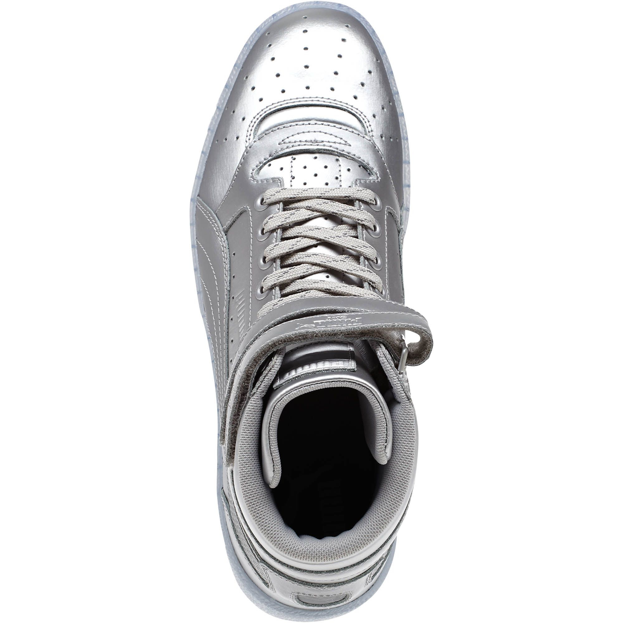Lyst - PUMA Sky Ii Hi Platinum Men s Sneakers in Metallic for Men 47c1c30bd
