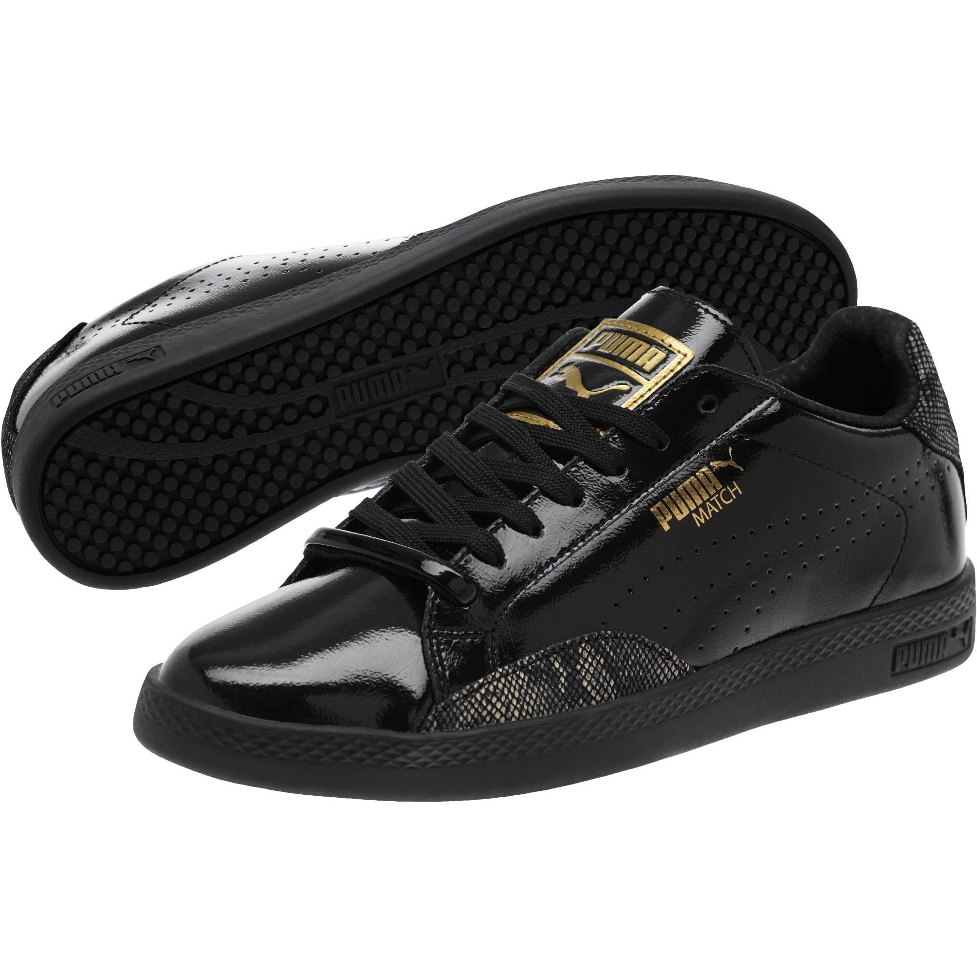 47563fef595 Lyst - PUMA Match Lo Patent Snake Women s Sneakers