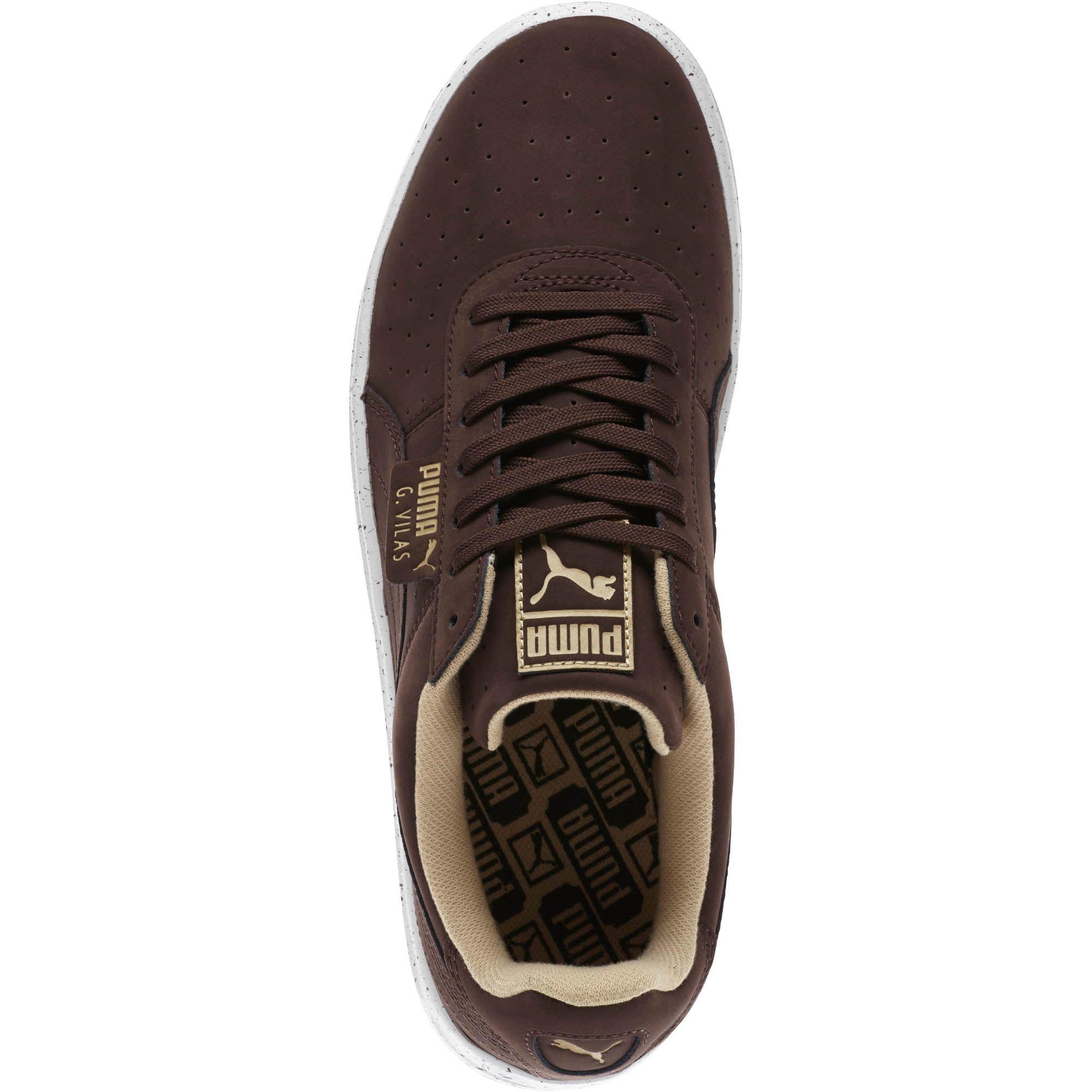 f6247c79d5c01 PUMA Brown G. Vilas Nubuck Speckle Men's Sneakers for men