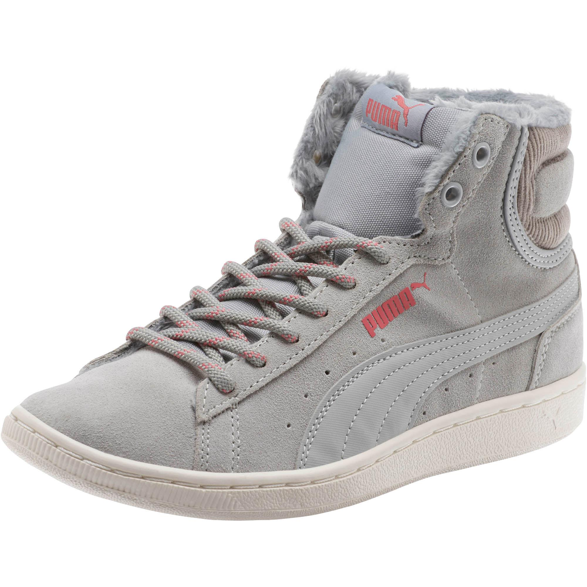 Puma VIKKY MID COURT - High-top trainers - dusty coral